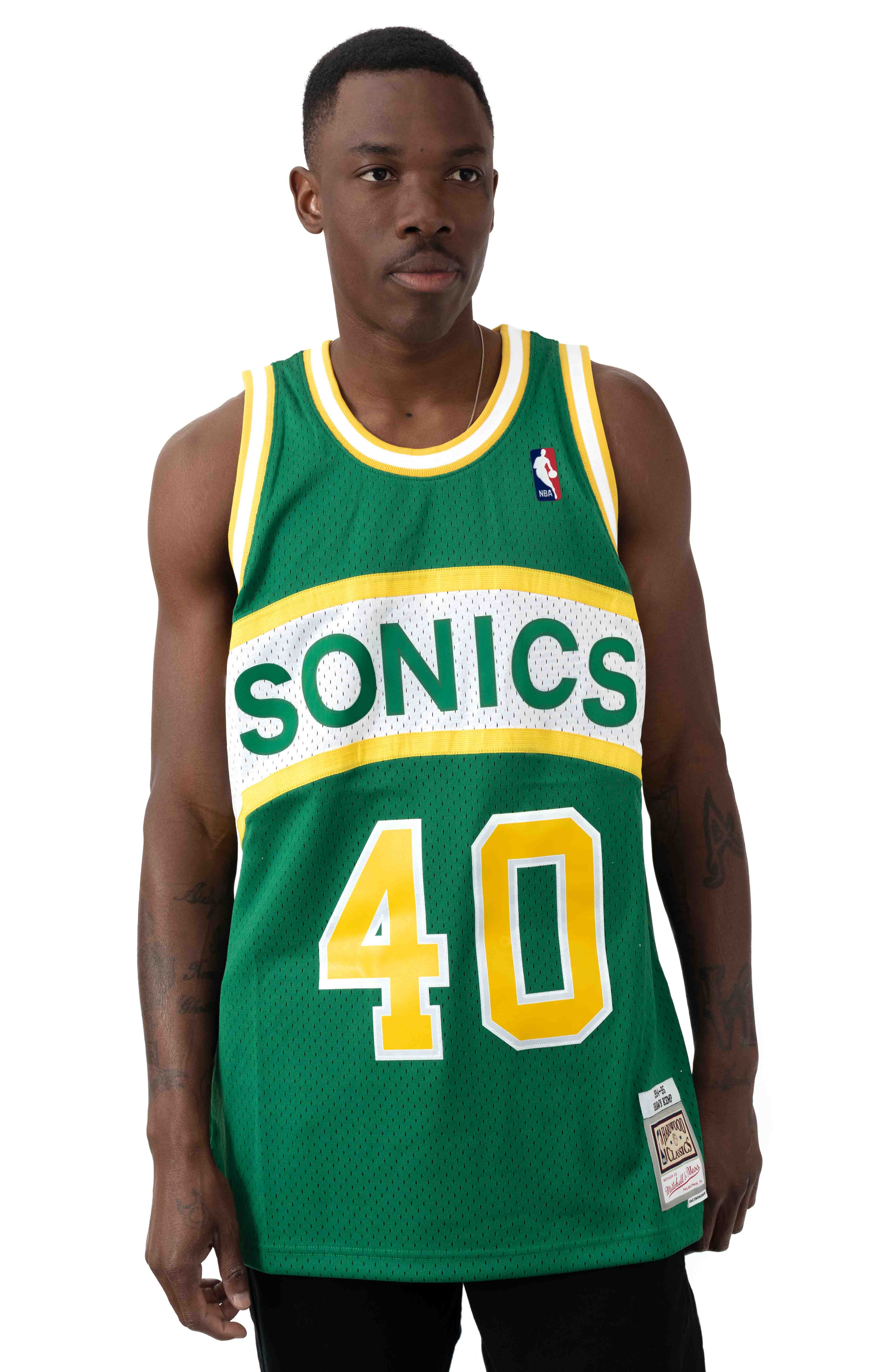 NBA Swingman Jersey - Supersonics 94-95 Shawn Kemp