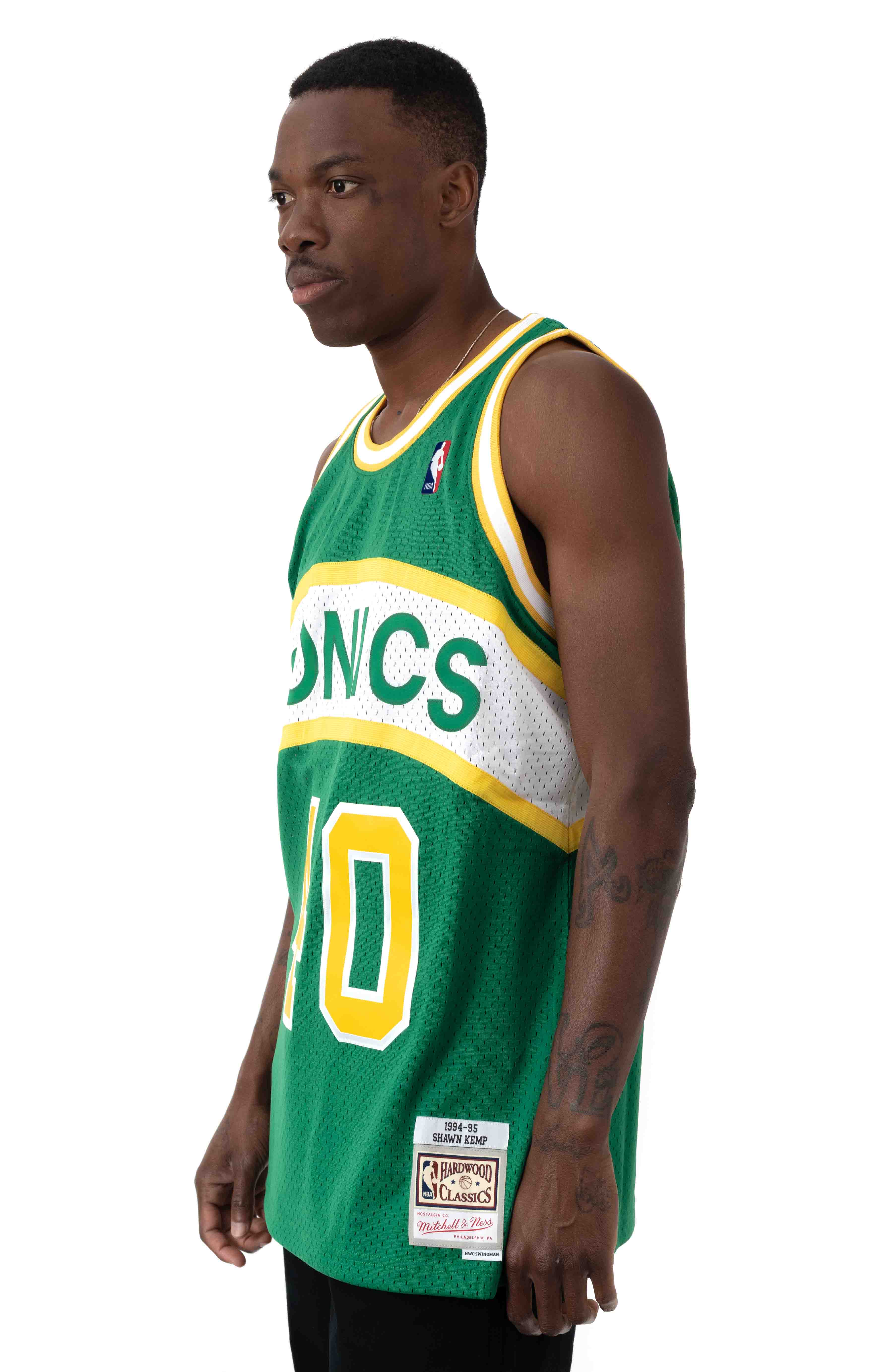 NBA Swingman Jersey - Supersonics 94-95 Shawn Kemp  2