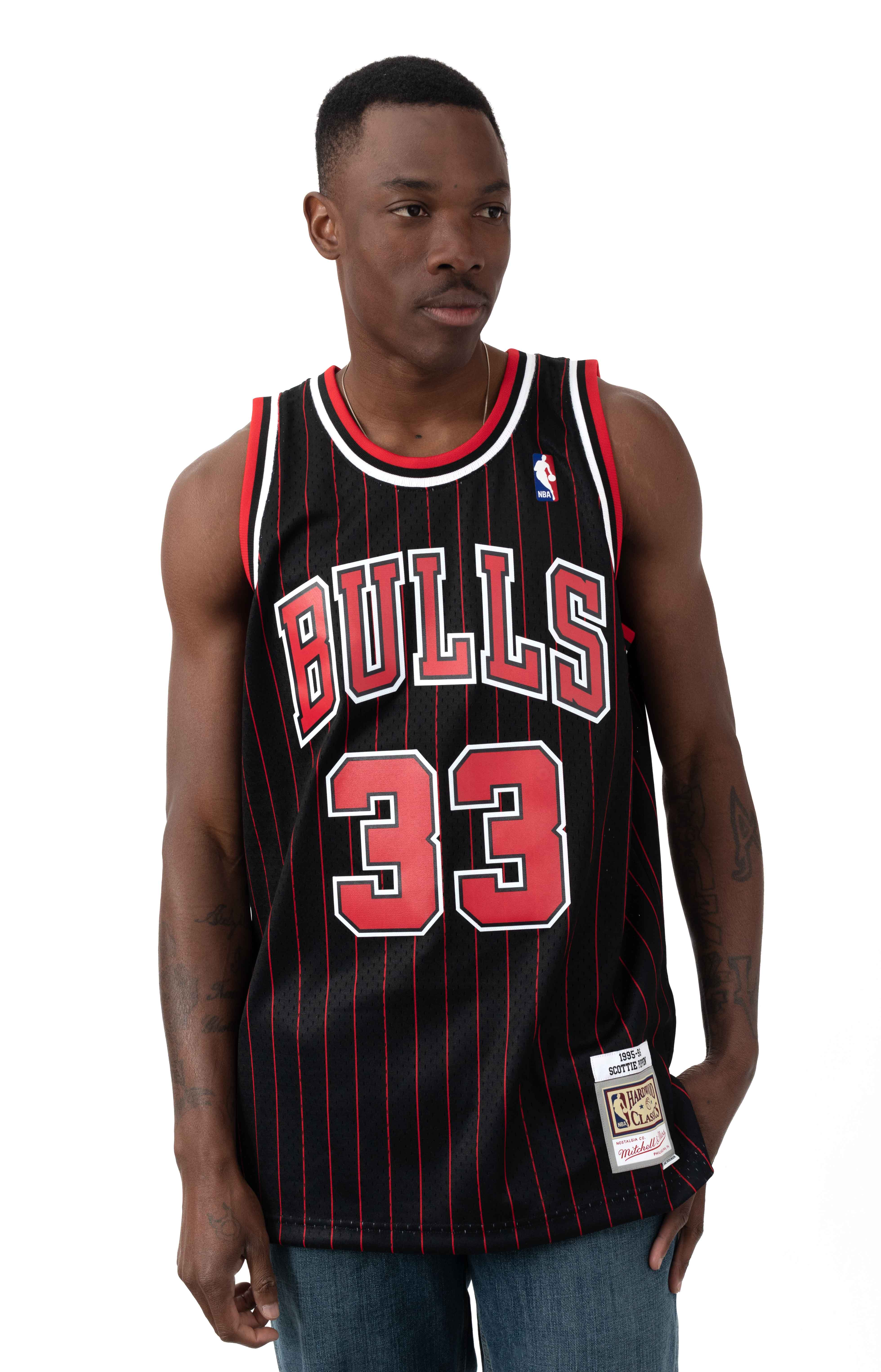 NBA Swingman Alternate Jersey - Bulls 95 Scottie Pippen