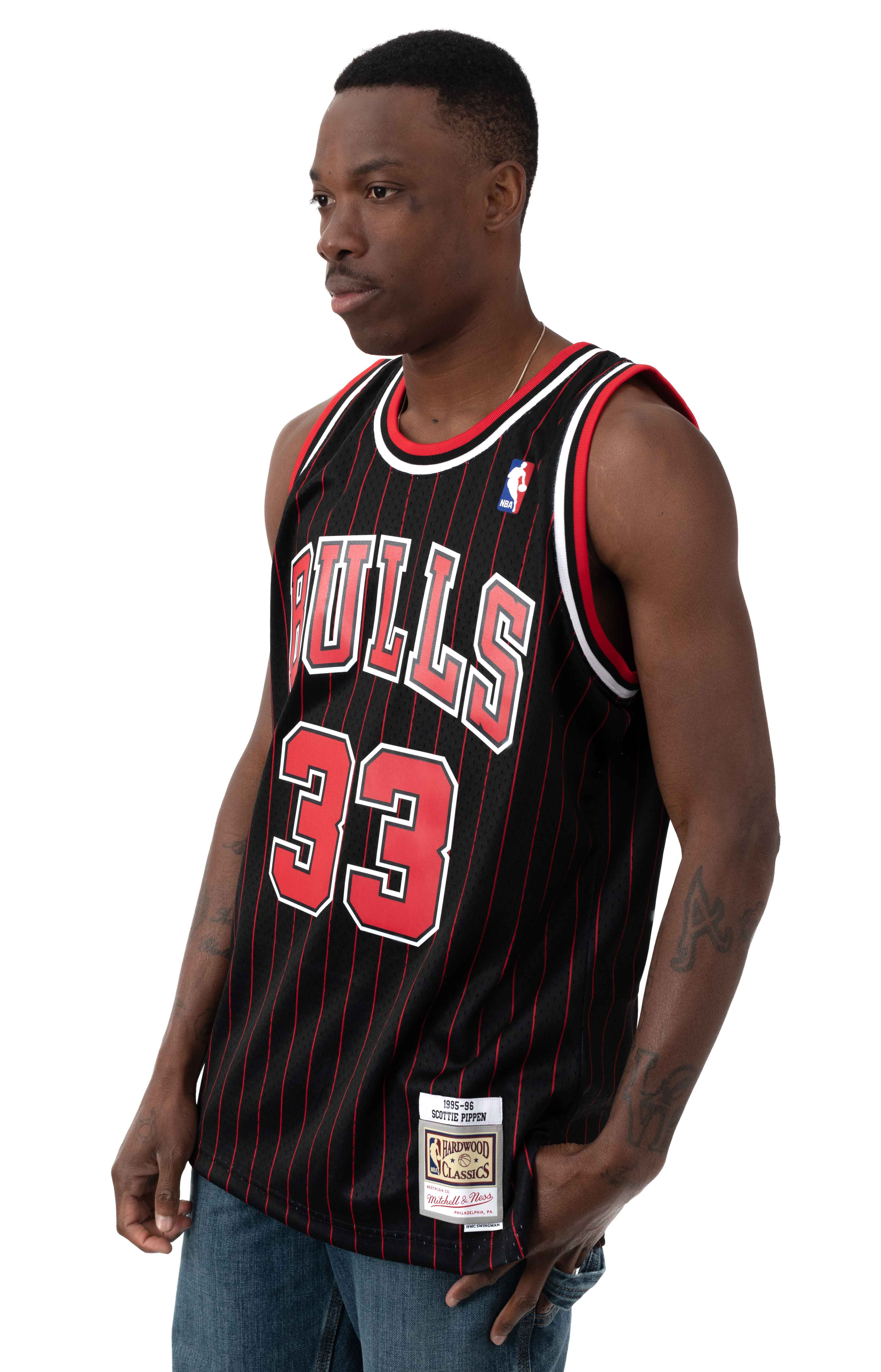 NBA Swingman Alternate Jersey - Bulls 95 Scottie Pippen  2