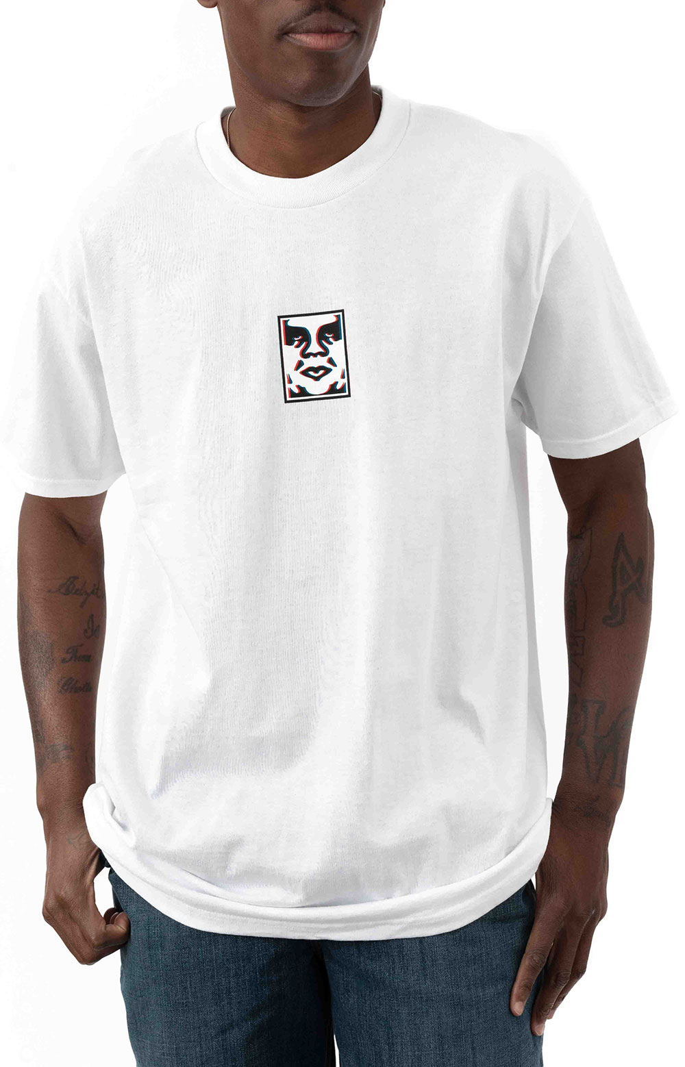 Obey Double Vision T-Shirt - White