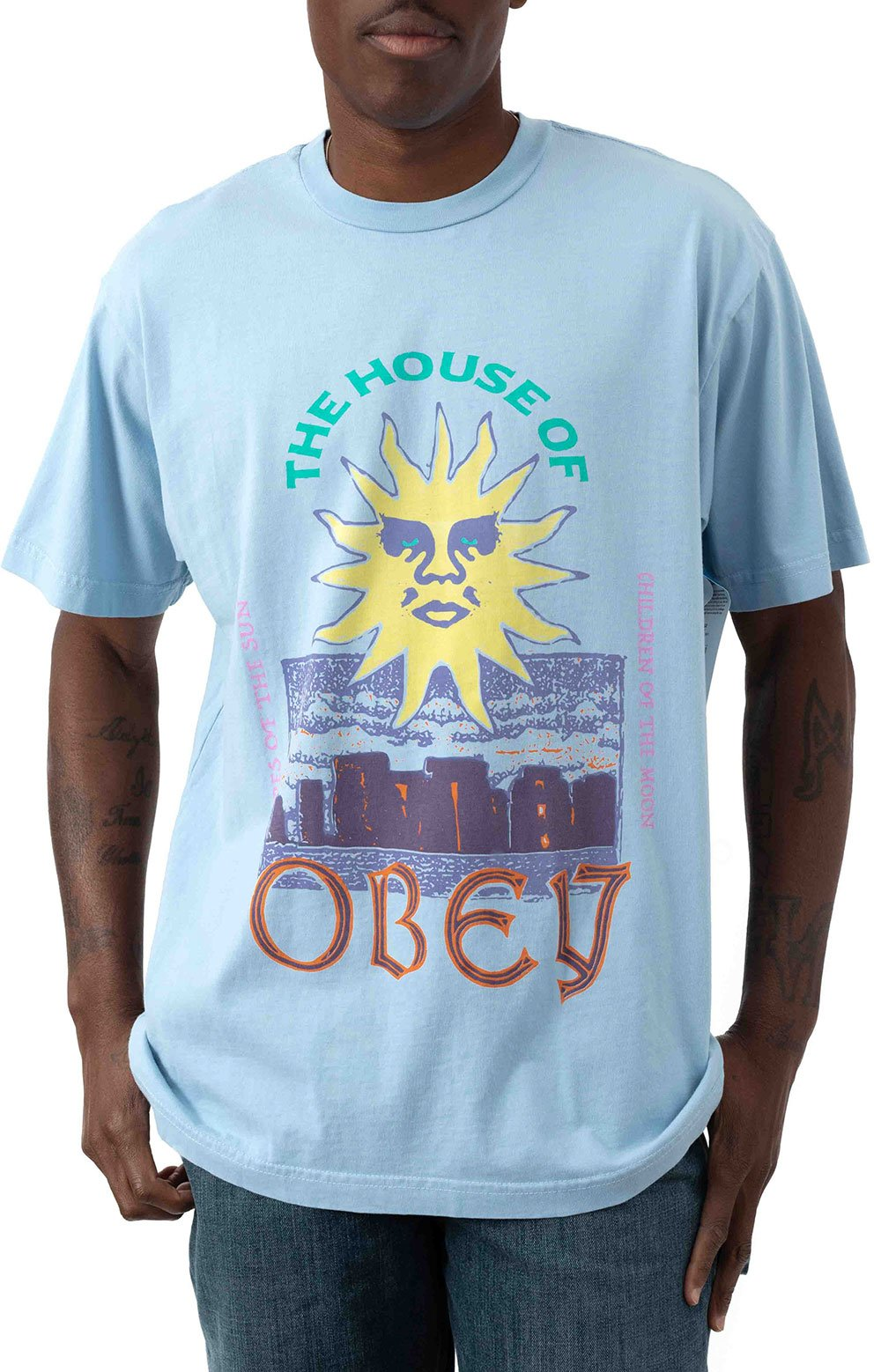 The House Of Obey T-Shirt - Good Grey