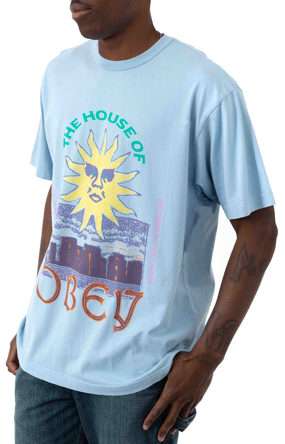 The House Of Obey T-Shirt - Good Grey 2