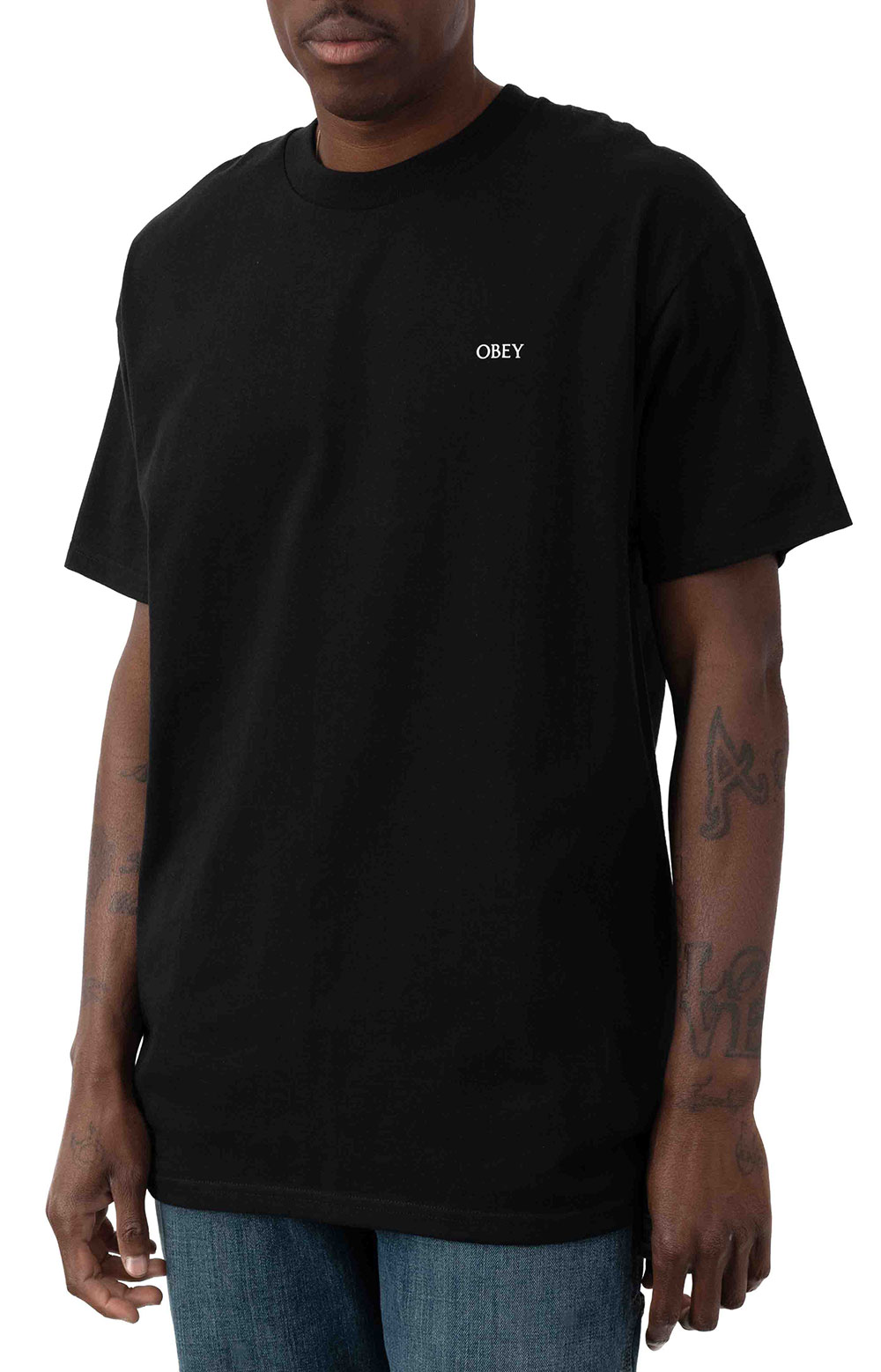 Obey Paint It Black T-Shirt - Black 2