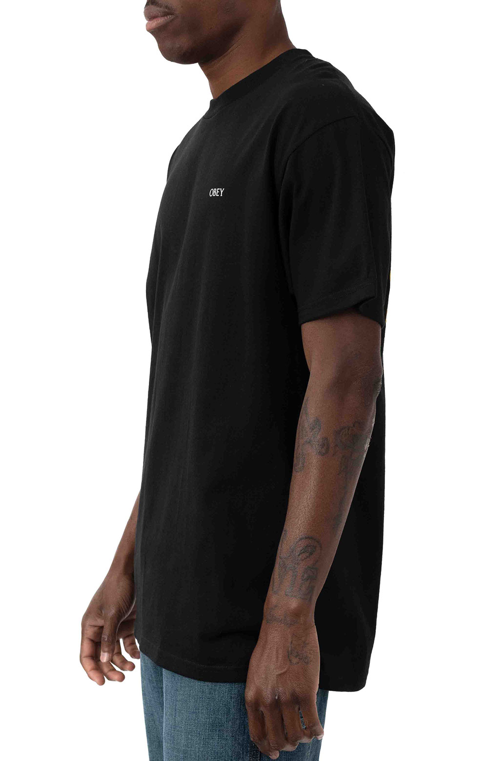 Obey Paint It Black T-Shirt - Black 3