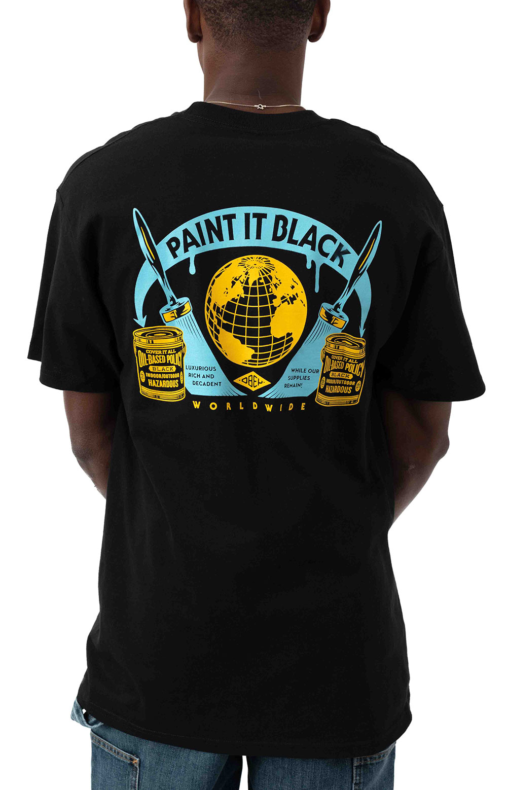 Obey Paint It Black T-Shirt - Black