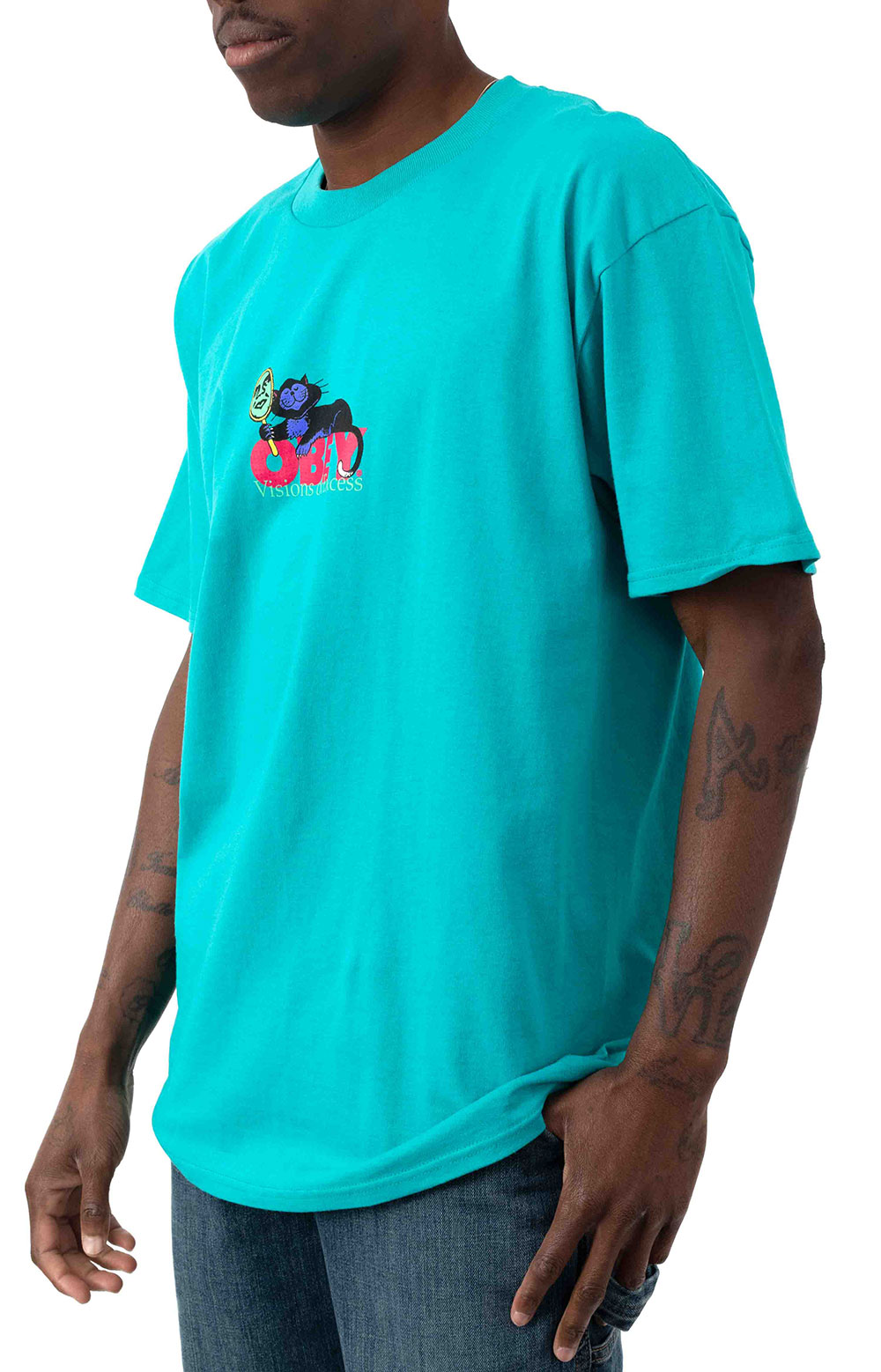 Visions Of Excess T-Shirt - Teal 2