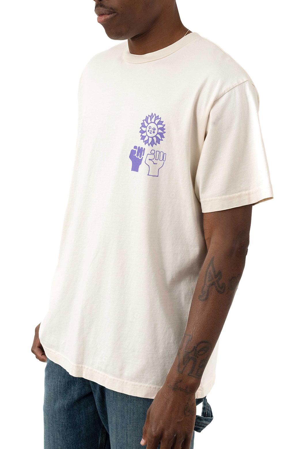 Peace Justice Equality T-Shirt - Sago 2