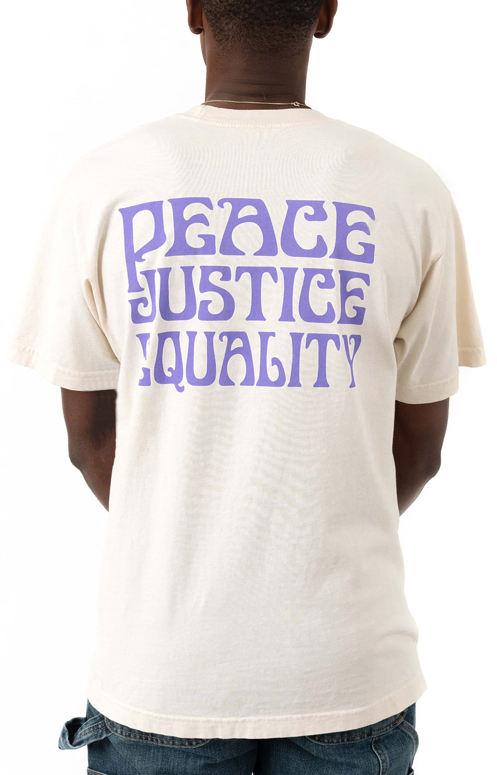 Peace Justice Equality T-Shirt - Sago 3
