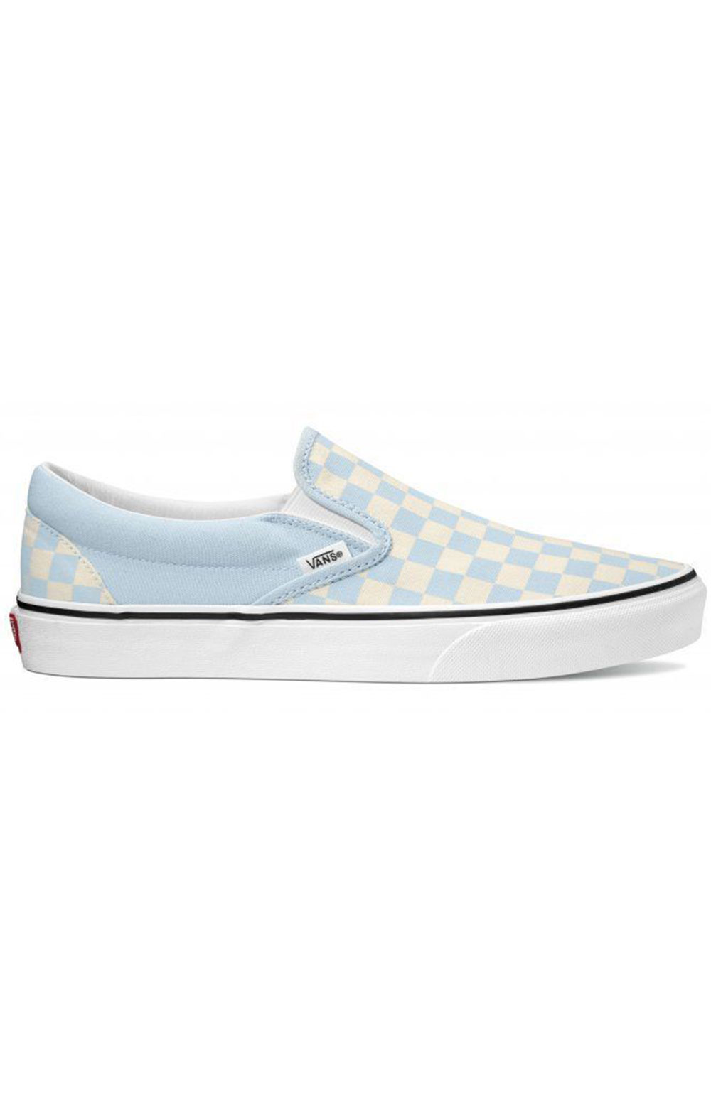 (3TB42Y) Checkerboard Classic Slip-On Shoes - Baby Blue