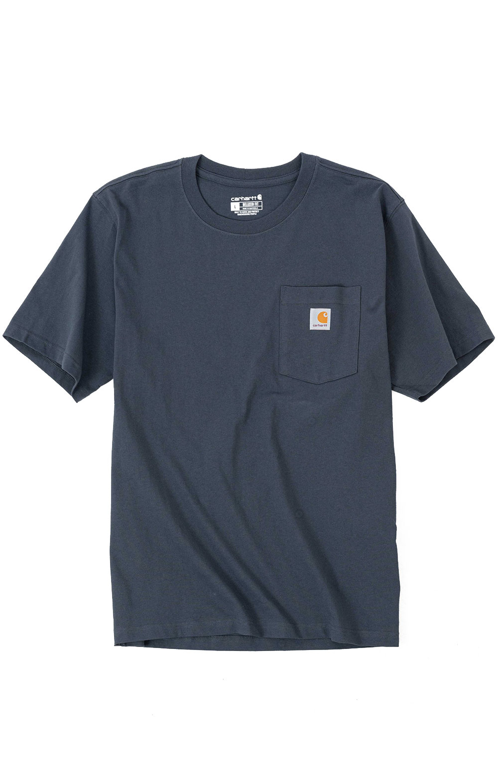 (104615) Relaxed Fit HW S/S Pocket Outdoor Graphic T-Shirt - Bluestone  2
