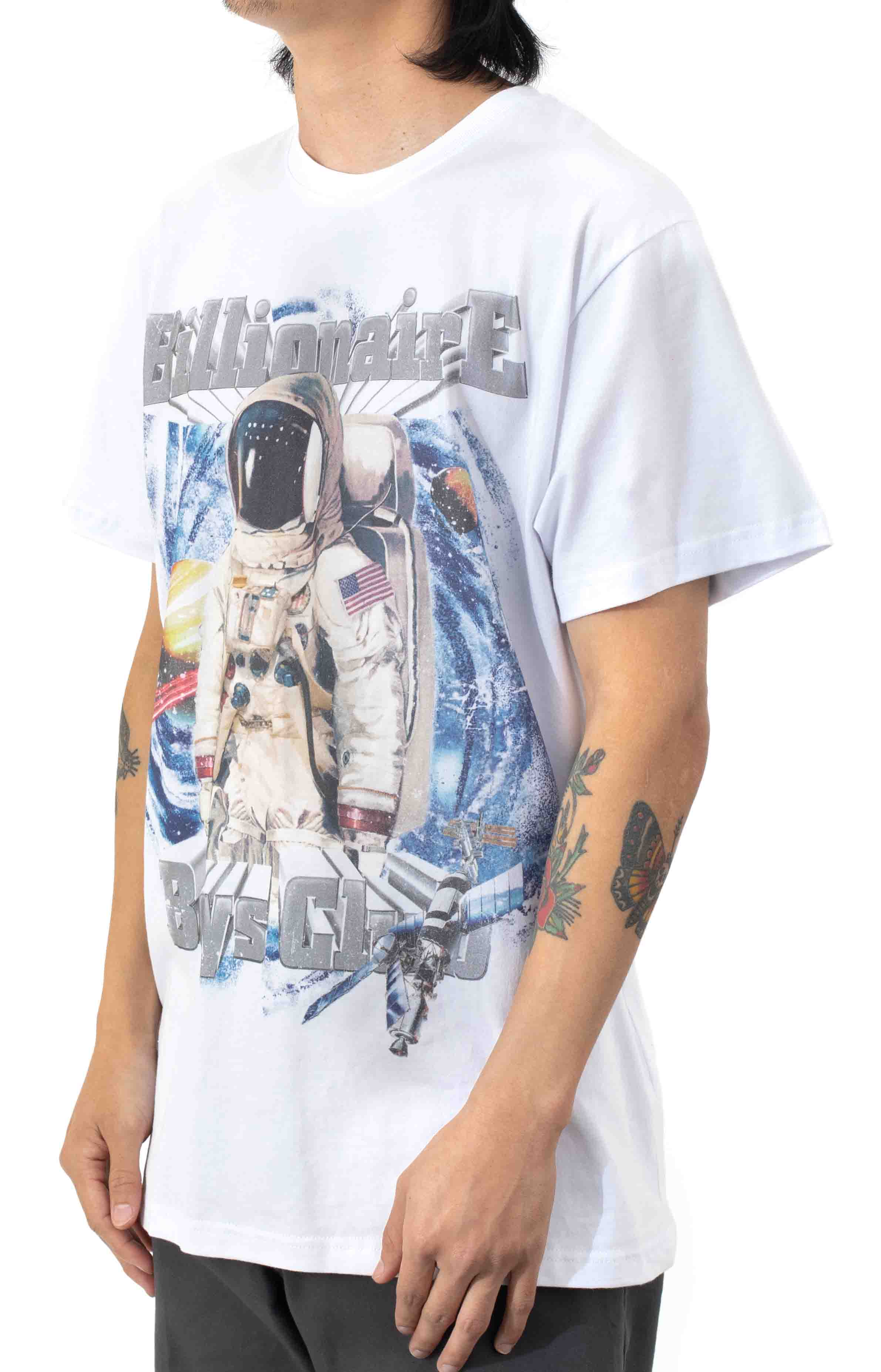 BB Fast Frontier SS Knit T-Shirt - White  2