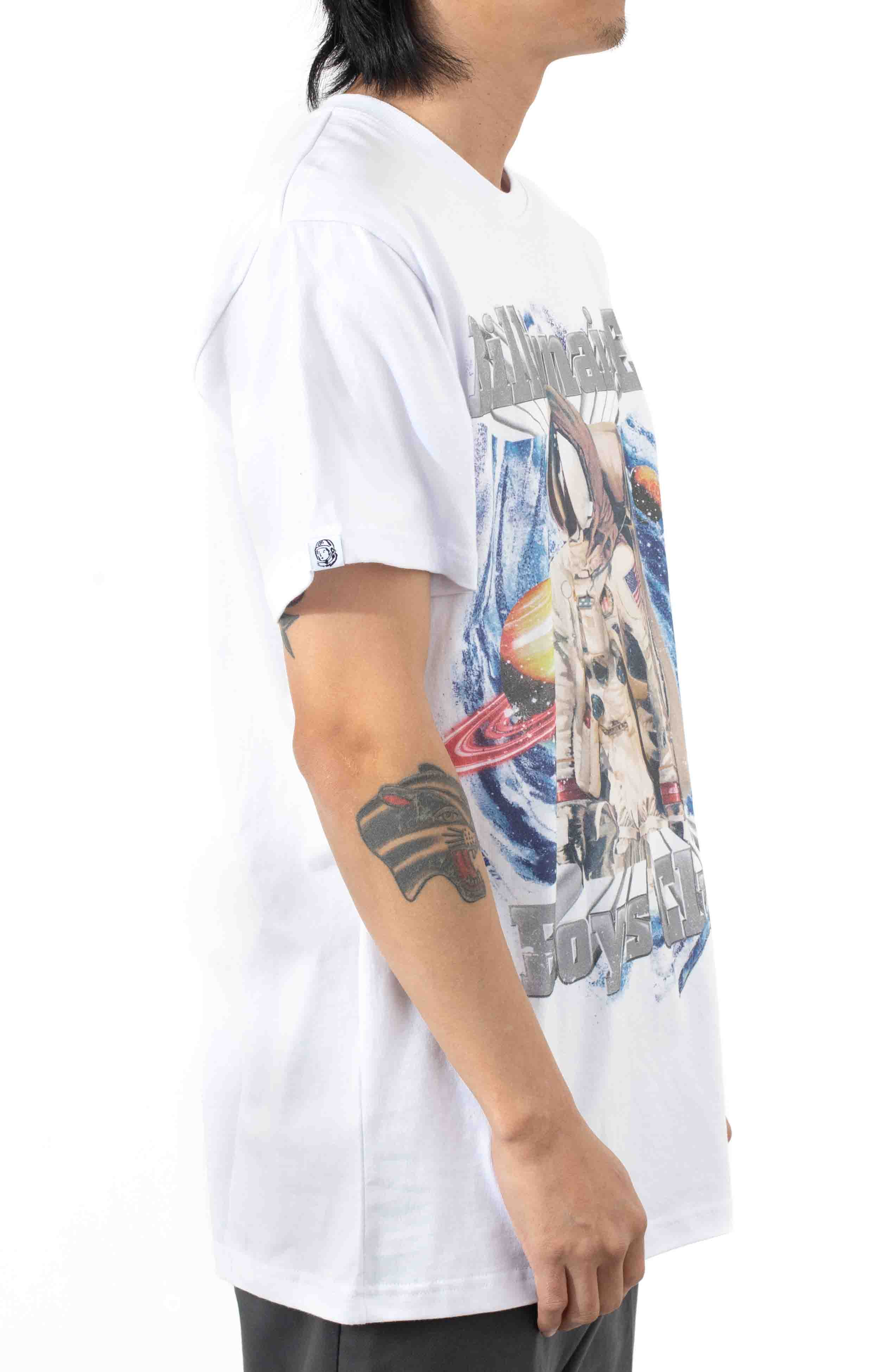 BB Fast Frontier SS Knit T-Shirt - White  3