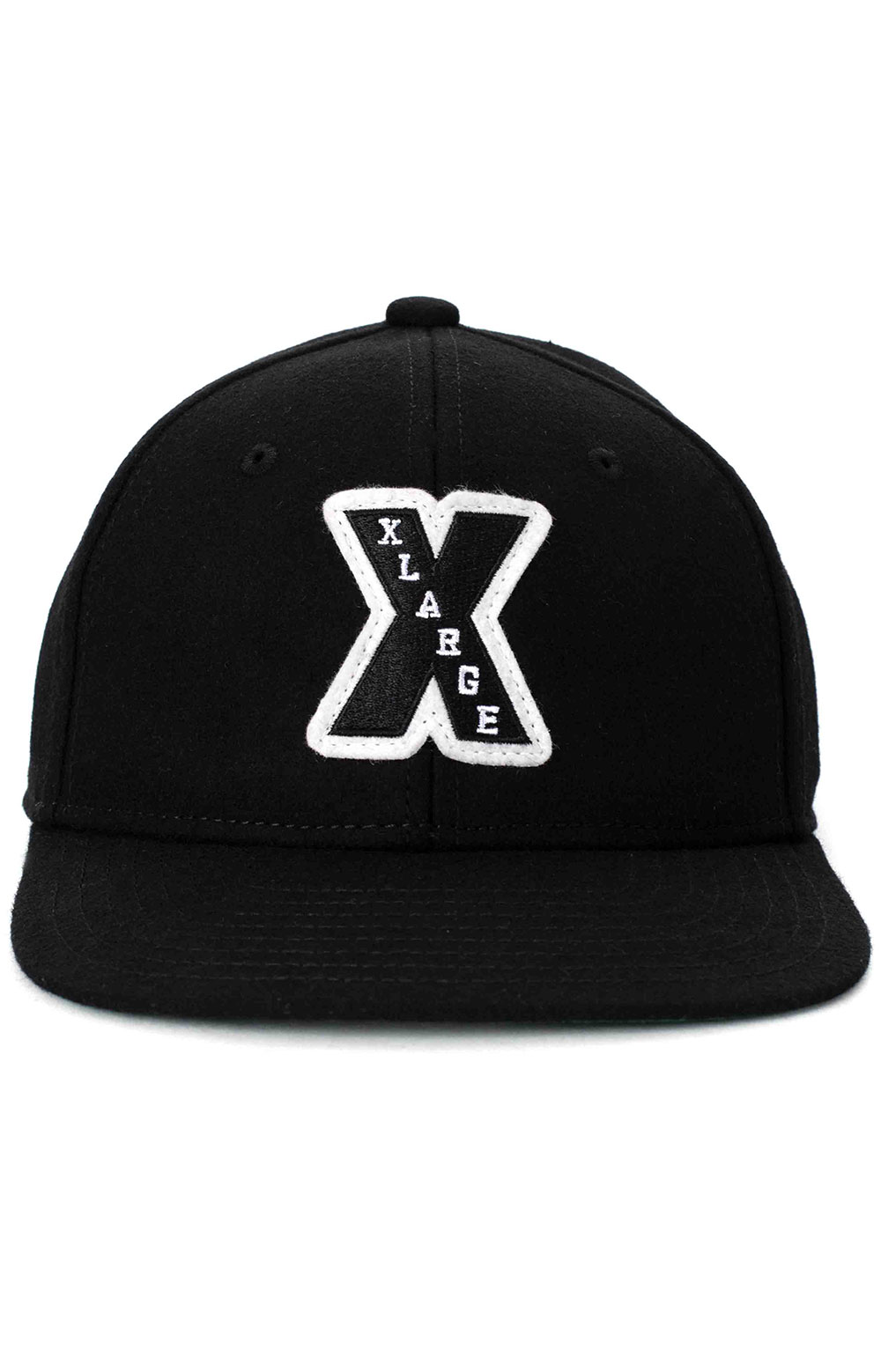 Patched Wool Cap - Black 2