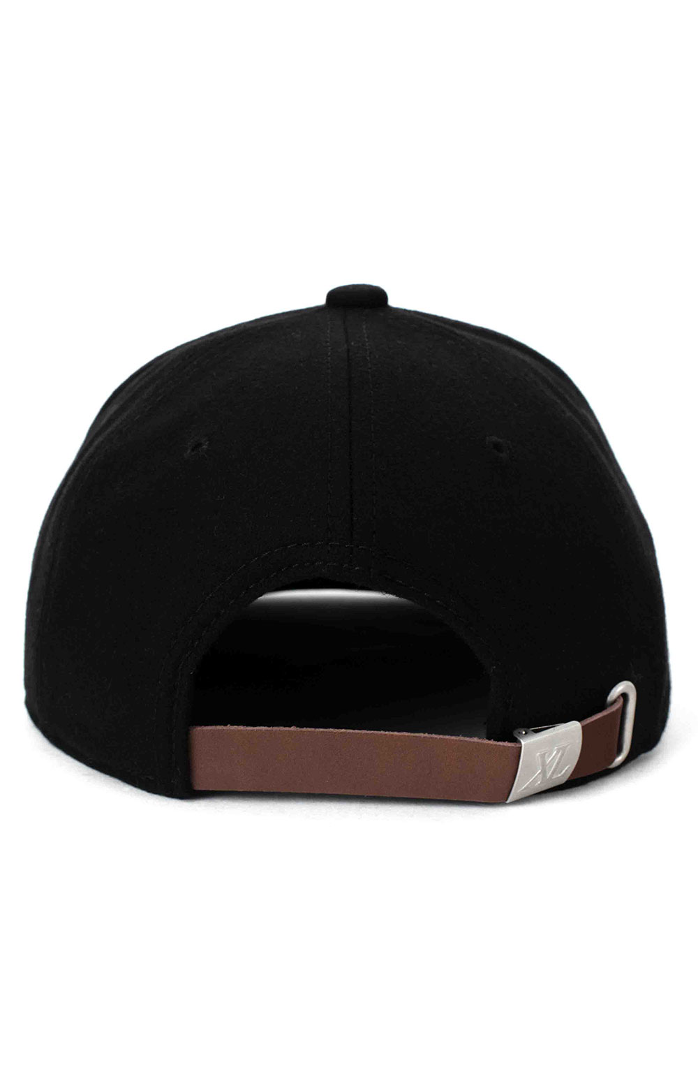 Patched Wool Cap - Black 3