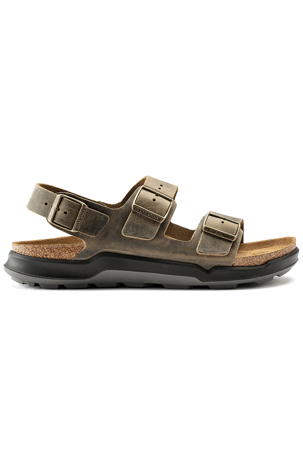 (1018427) Milano Cross Town Sandals - Faded Khaki 3