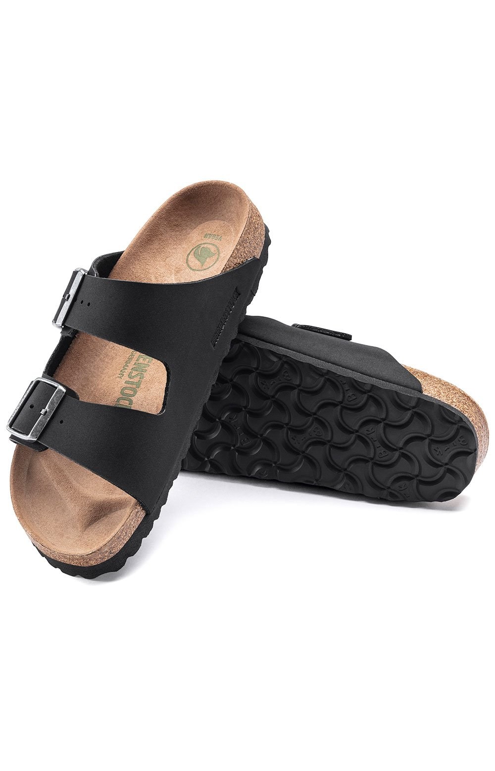 (1019115) Arizona Vegan Sandals - Black 4