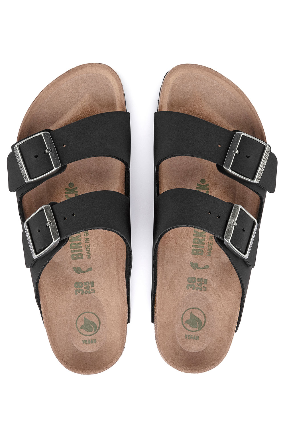 (1019115) Arizona Vegan Sandals - Black 5