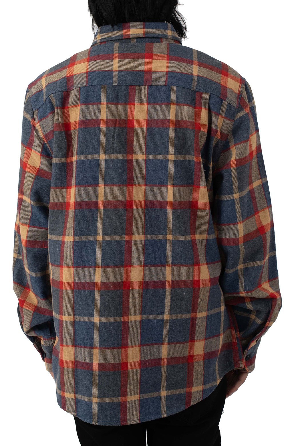 Bowery L/S Flannel - Blue/Red 3