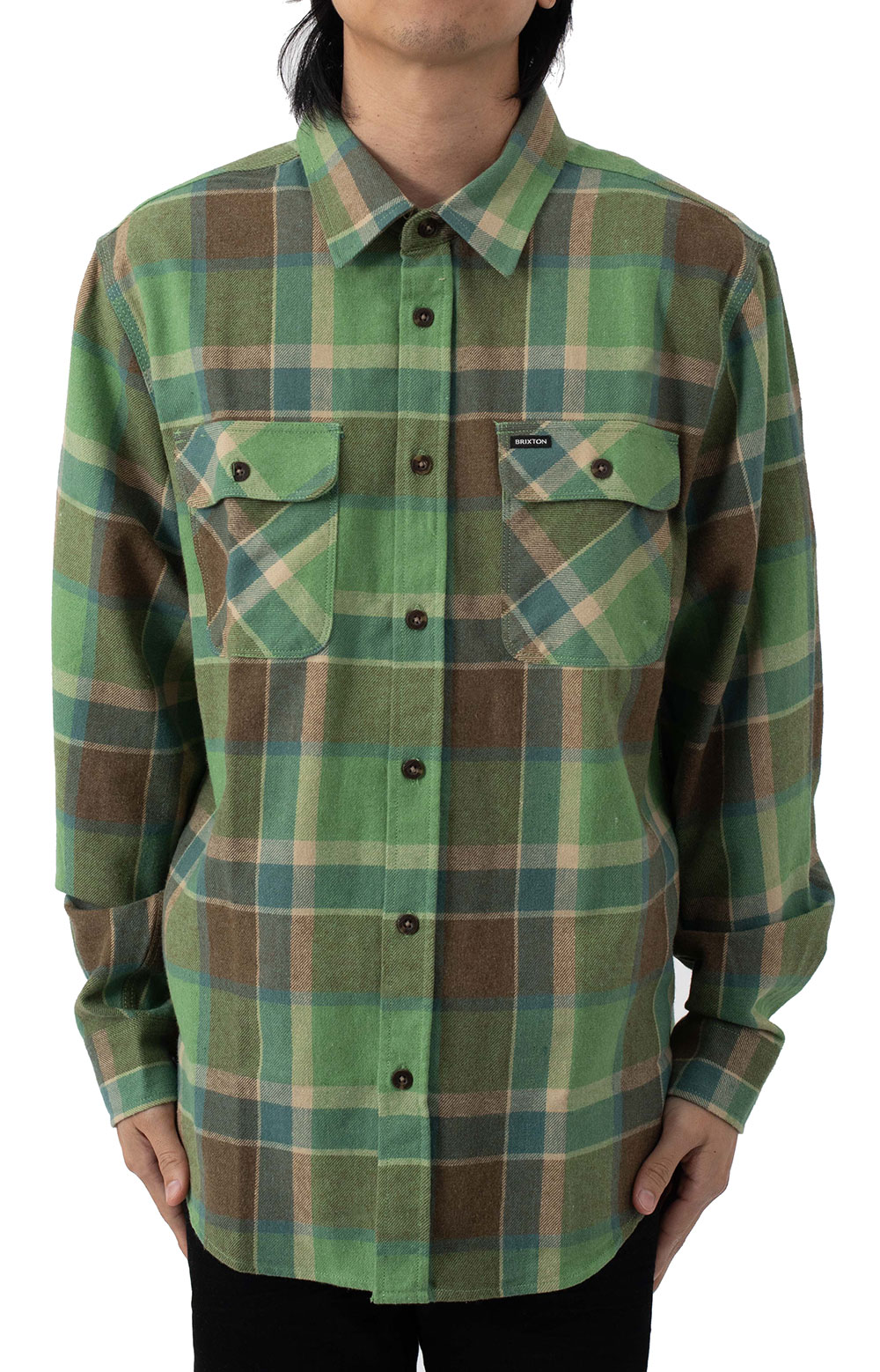 Bowery L/S Flannel - Toffee