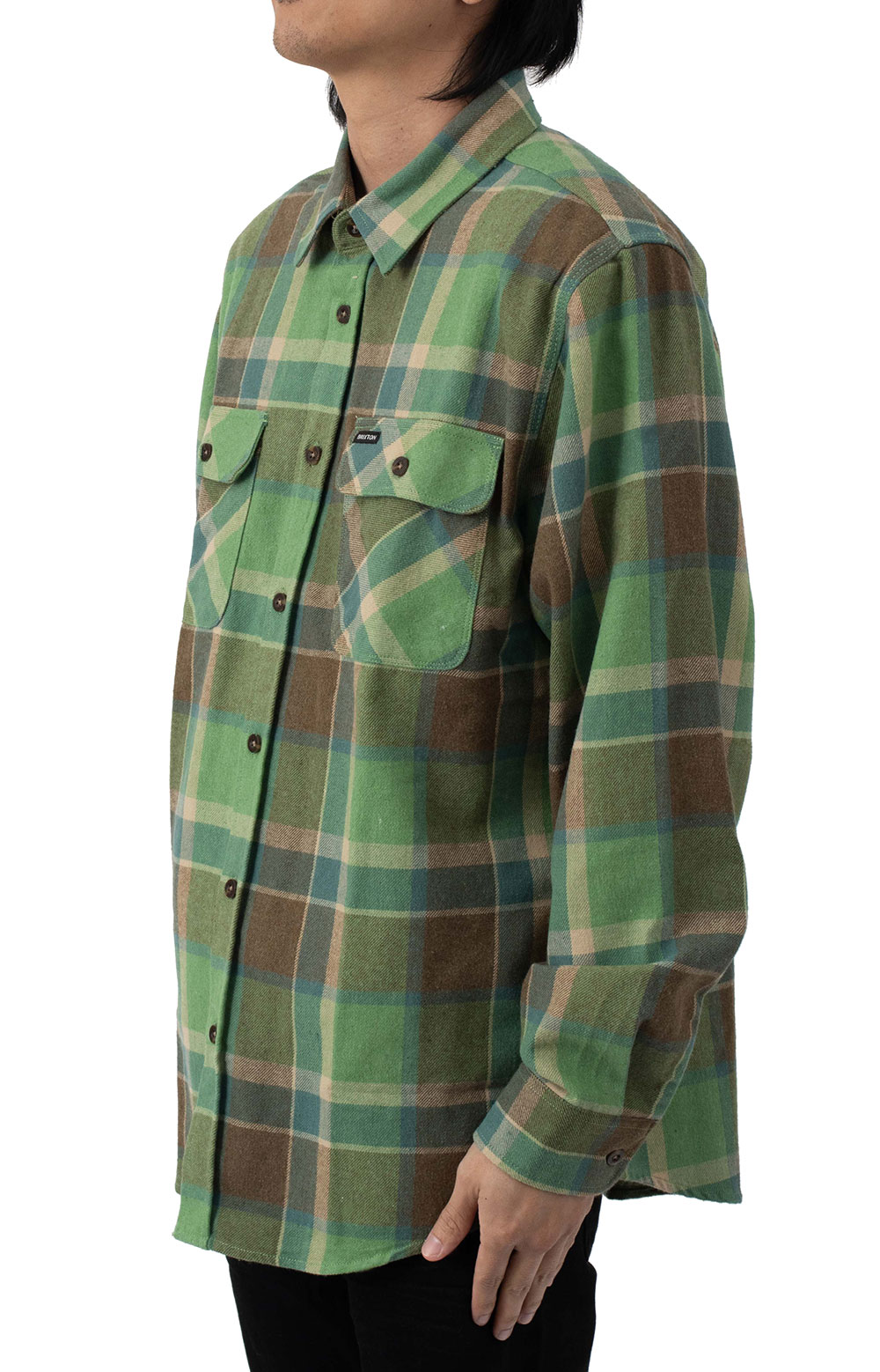 Bowery L/S Flannel - Toffee 2