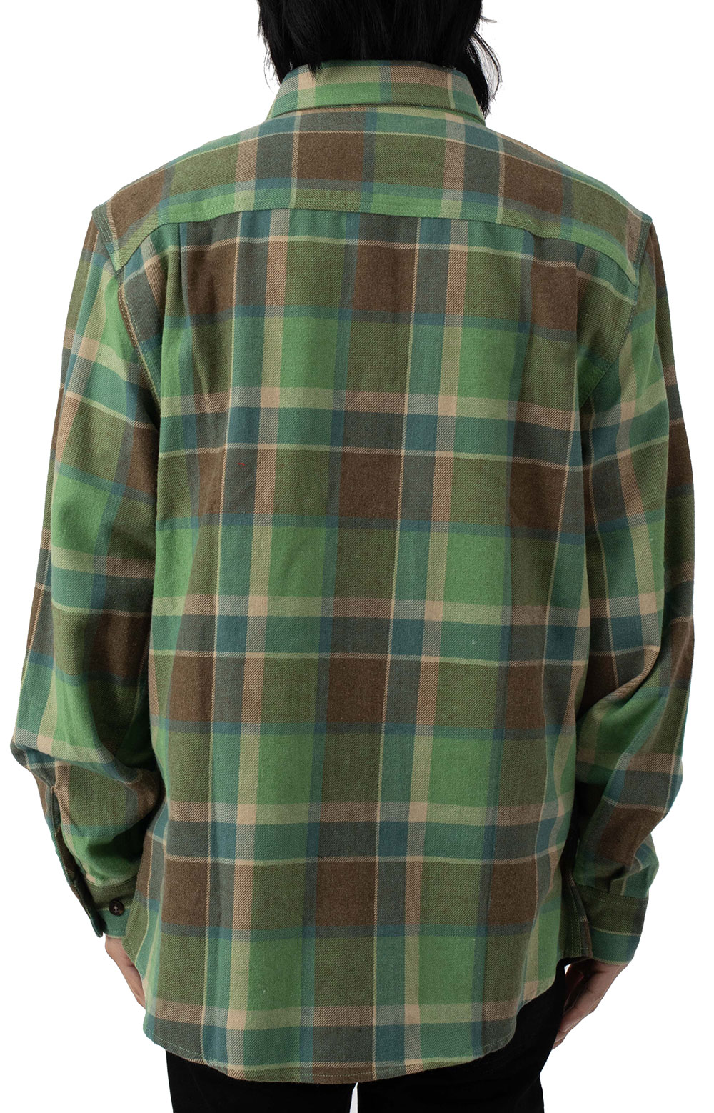 Bowery L/S Flannel - Toffee 3