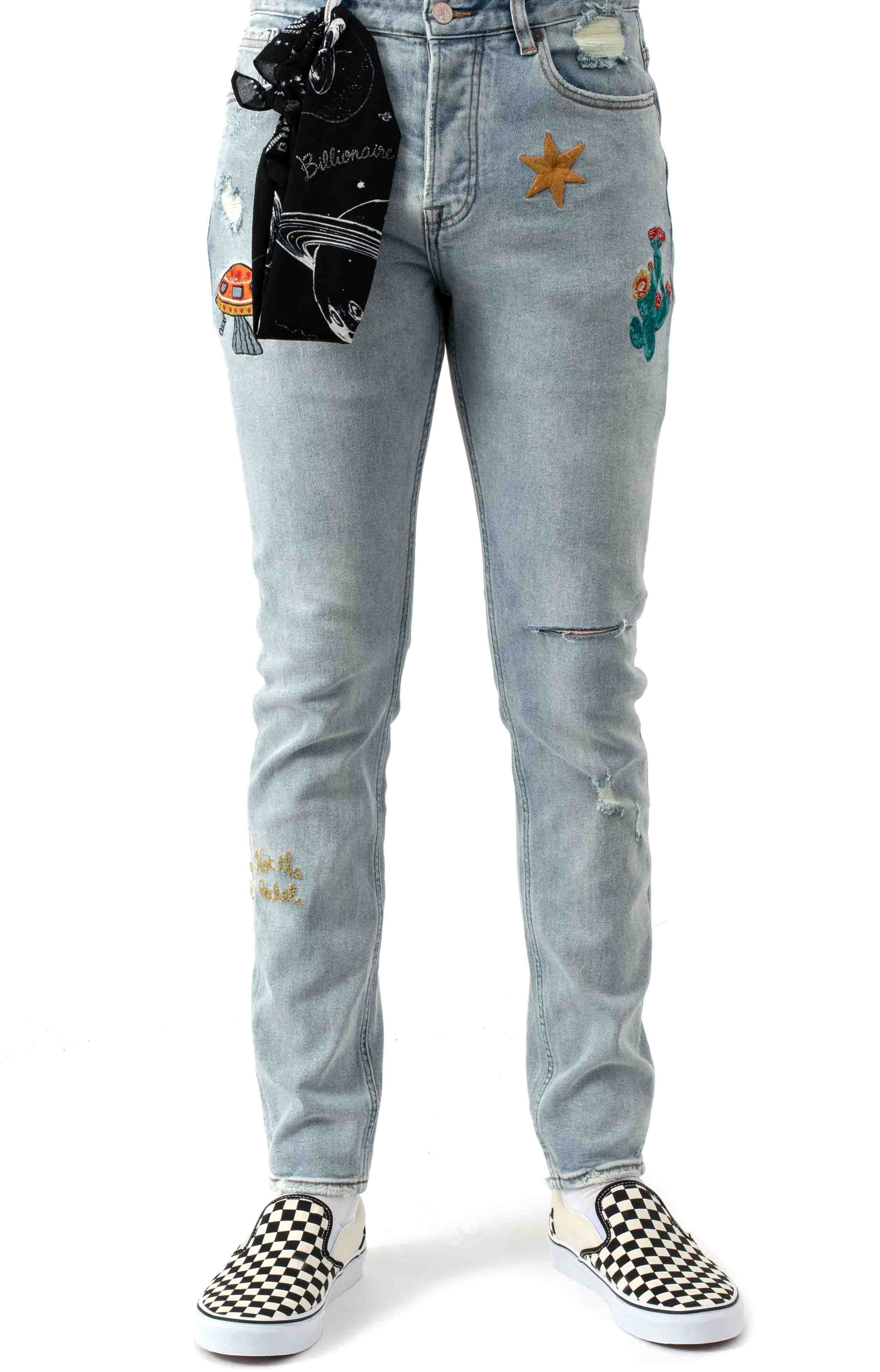 BB Dungarees Jeans - Infinity