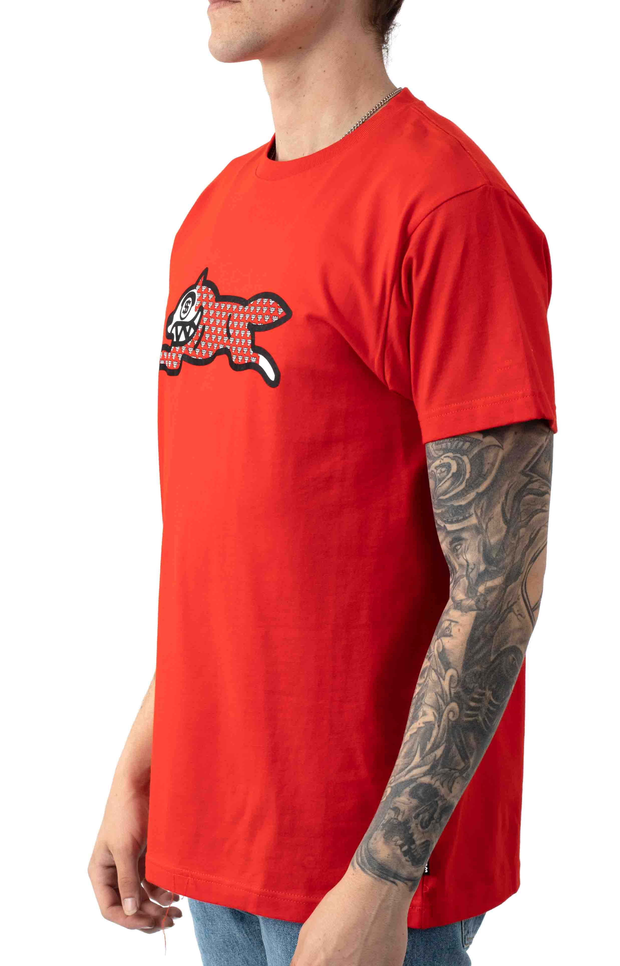 Fossil Fuel T-Shirt - Fiery Red 2
