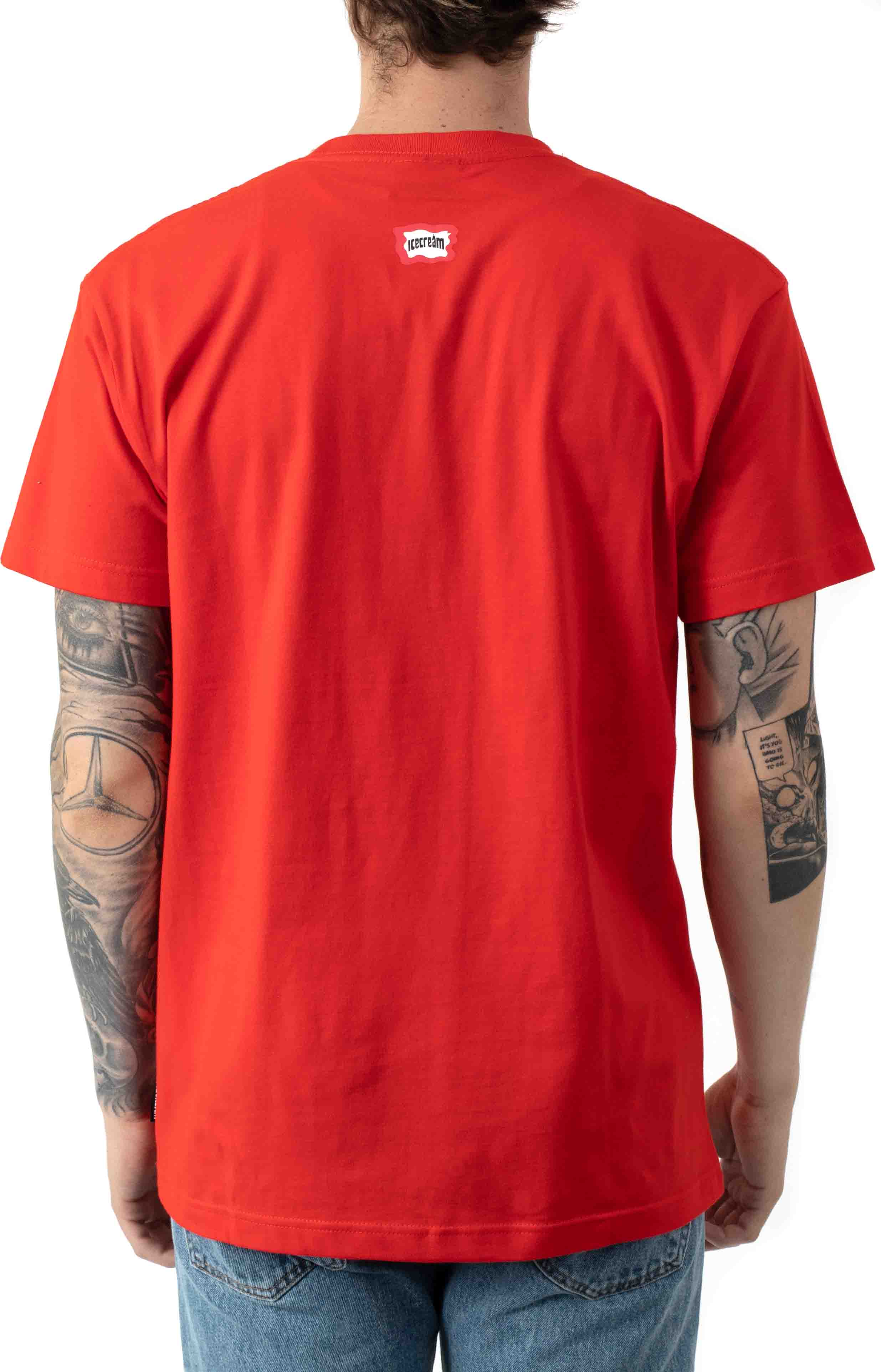 Fossil Fuel T-Shirt - Fiery Red 3