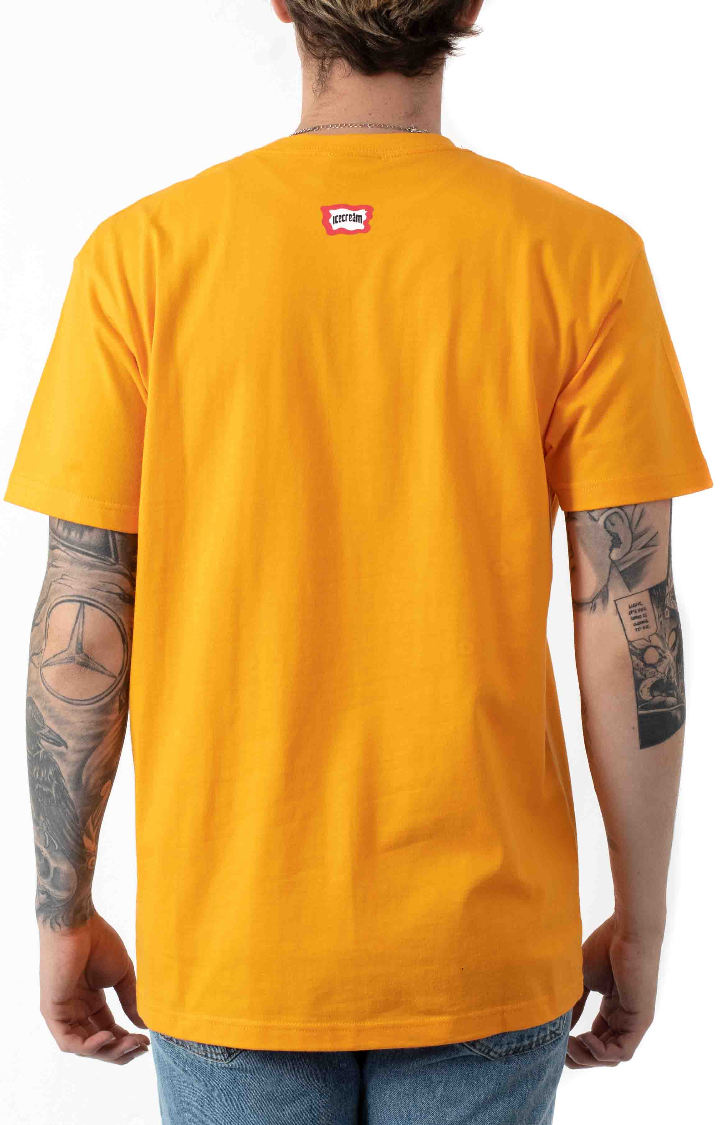 Fossil Fuel T-Shirt - Radiant Yellow  3