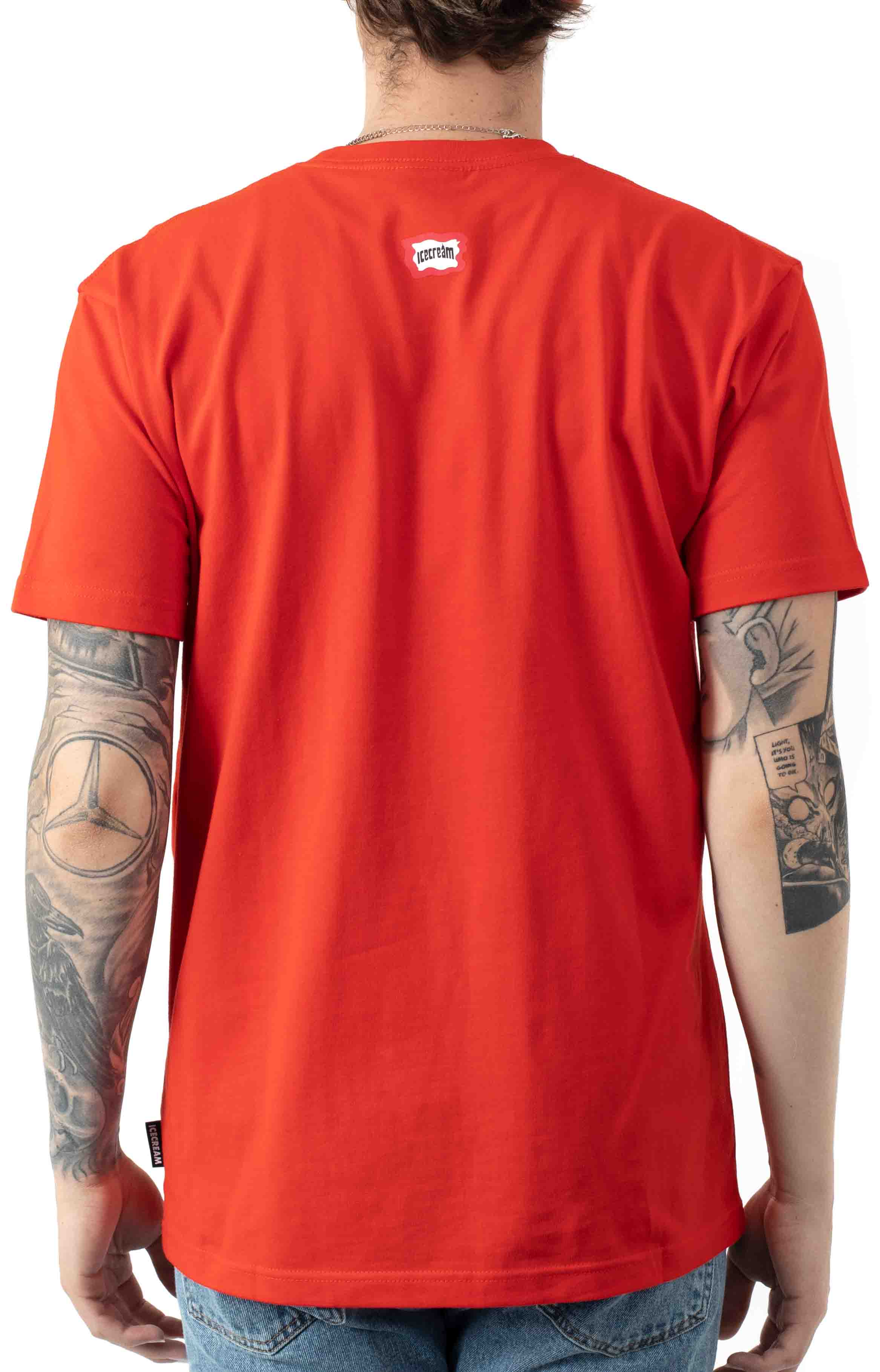 Cash Rules T-Shirt - Fiery Red 3