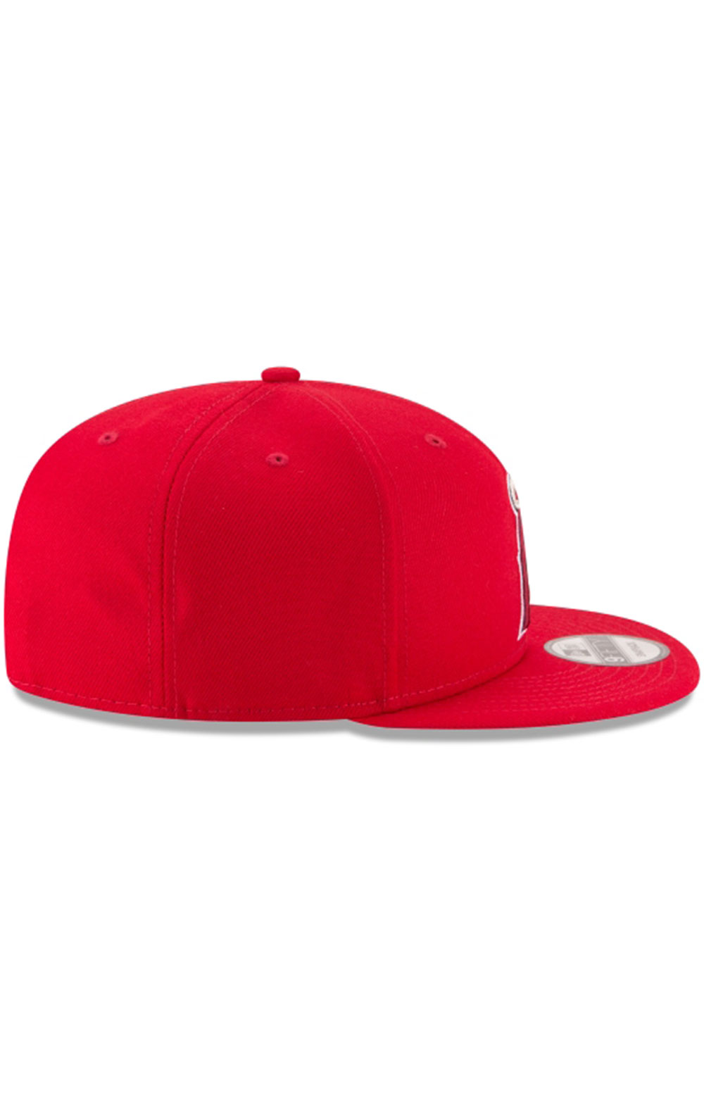 Los Angeles Angels Team Color Basic 9Fifty Snap-Back Hat  2