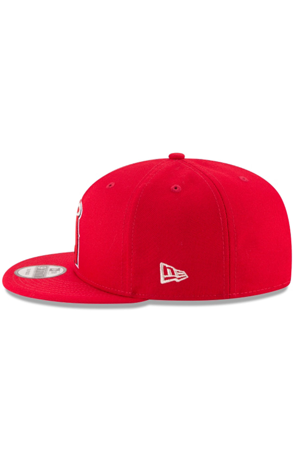 Los Angeles Angels Team Color Basic 9Fifty Snap-Back Hat  4