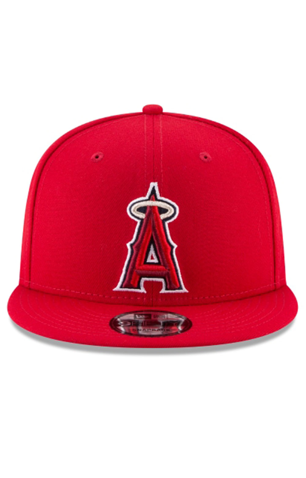 Los Angeles Angels Team Color Basic 9Fifty Snap-Back Hat  5