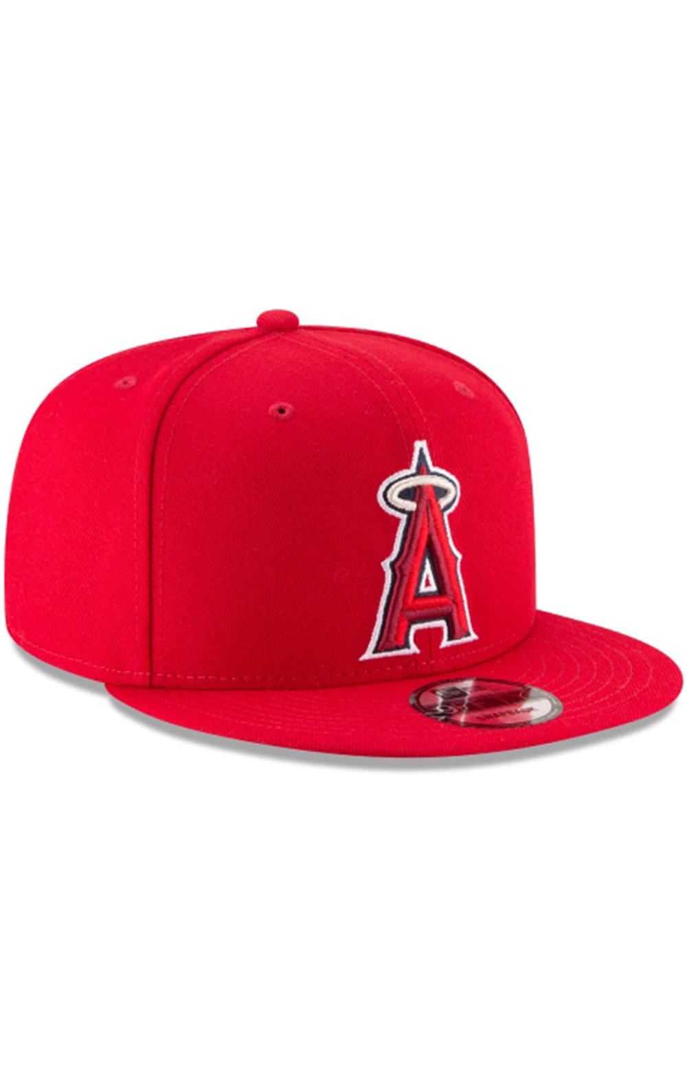 Los Angeles Angels Team Color Basic 9Fifty Snap-Back Hat  6
