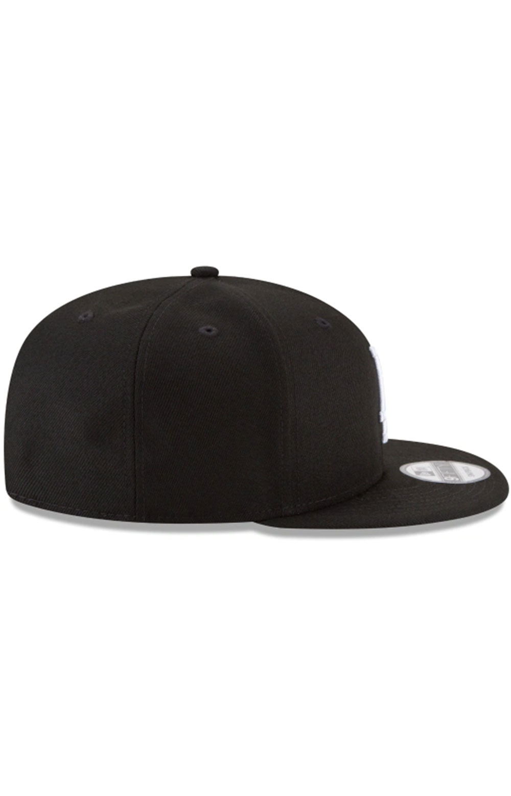 Los Angeles Dodgers Basic 9Fifty Snap-Back Hat - Black/White 2