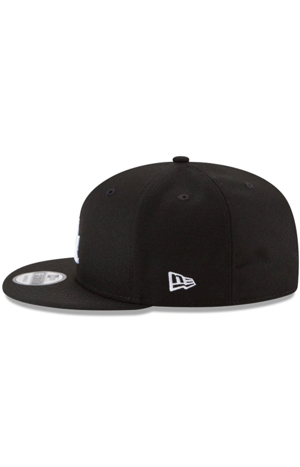 Los Angeles Dodgers Basic 9Fifty Snap-Back Hat - Black/White 4