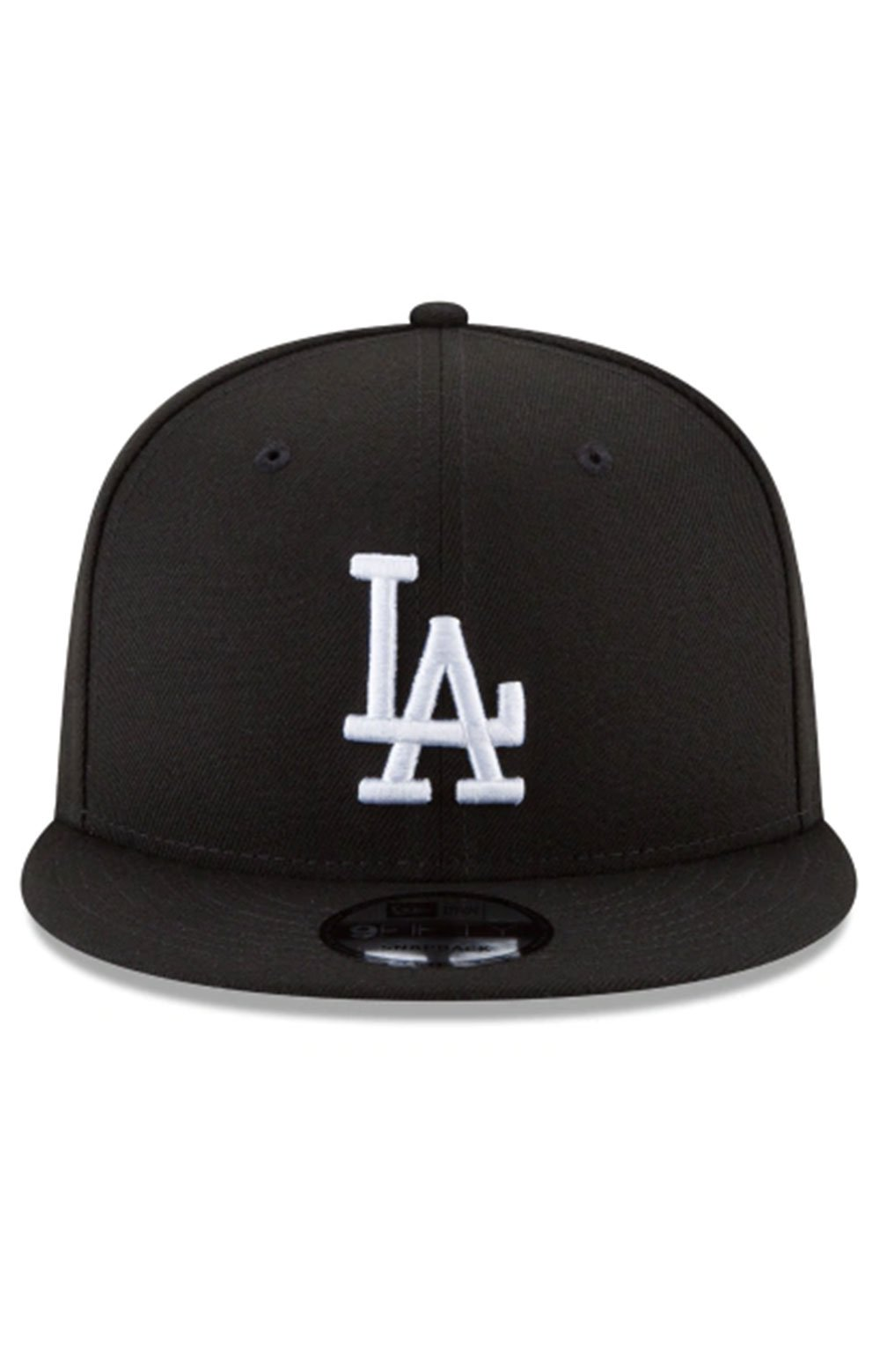 Los Angeles Dodgers Basic 9Fifty Snap-Back Hat - Black/White 5