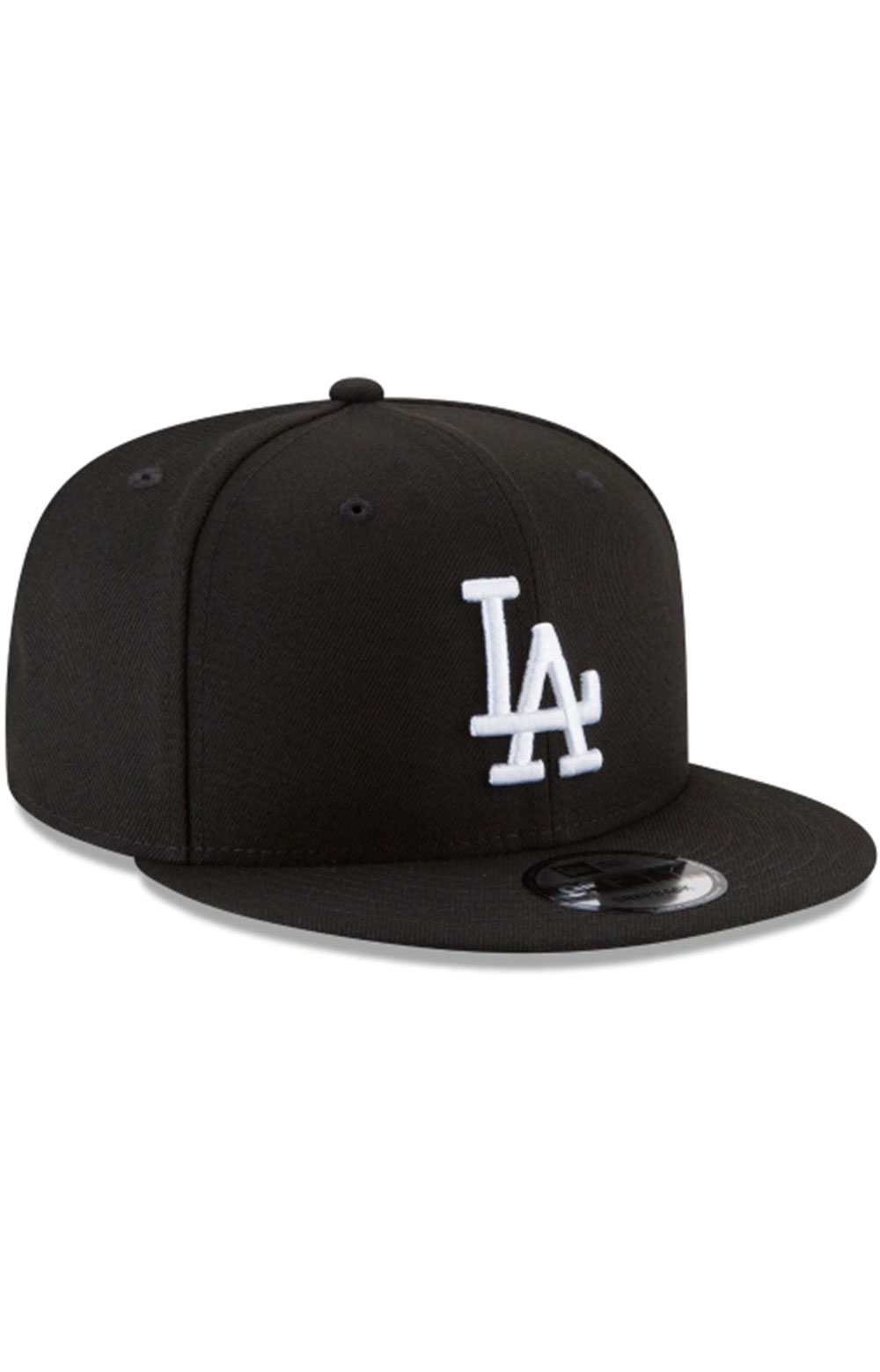 Los Angeles Dodgers Basic 9Fifty Snap-Back Hat - Black/White 6
