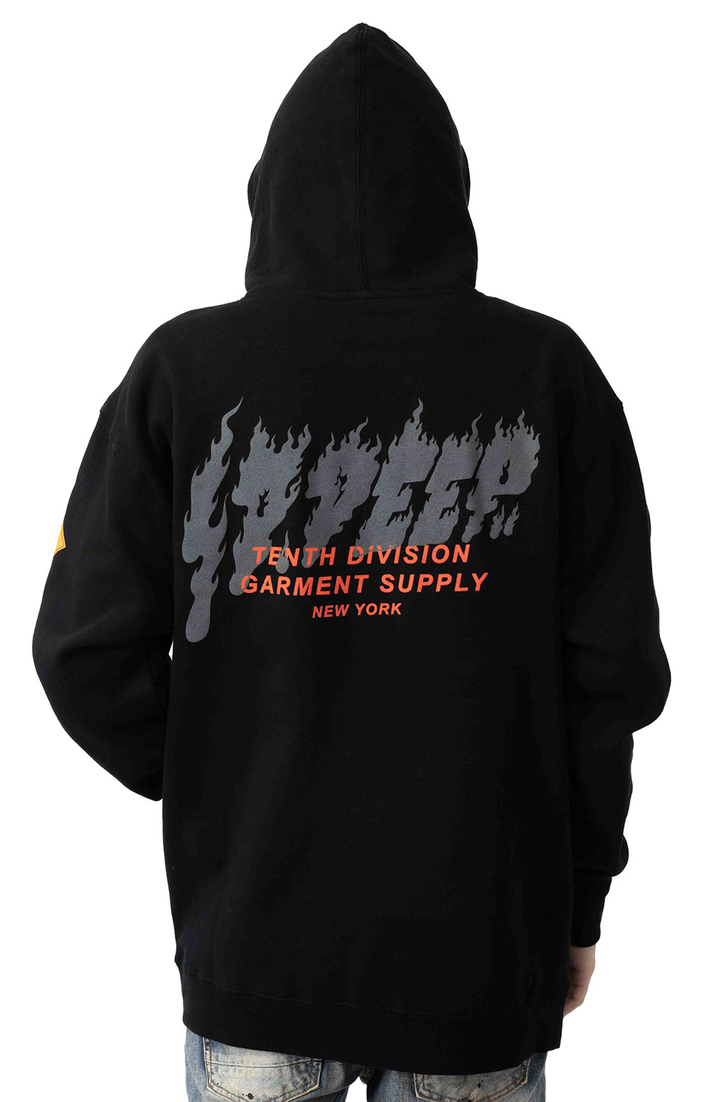Prohibited Pullover Hoodie - Black 3