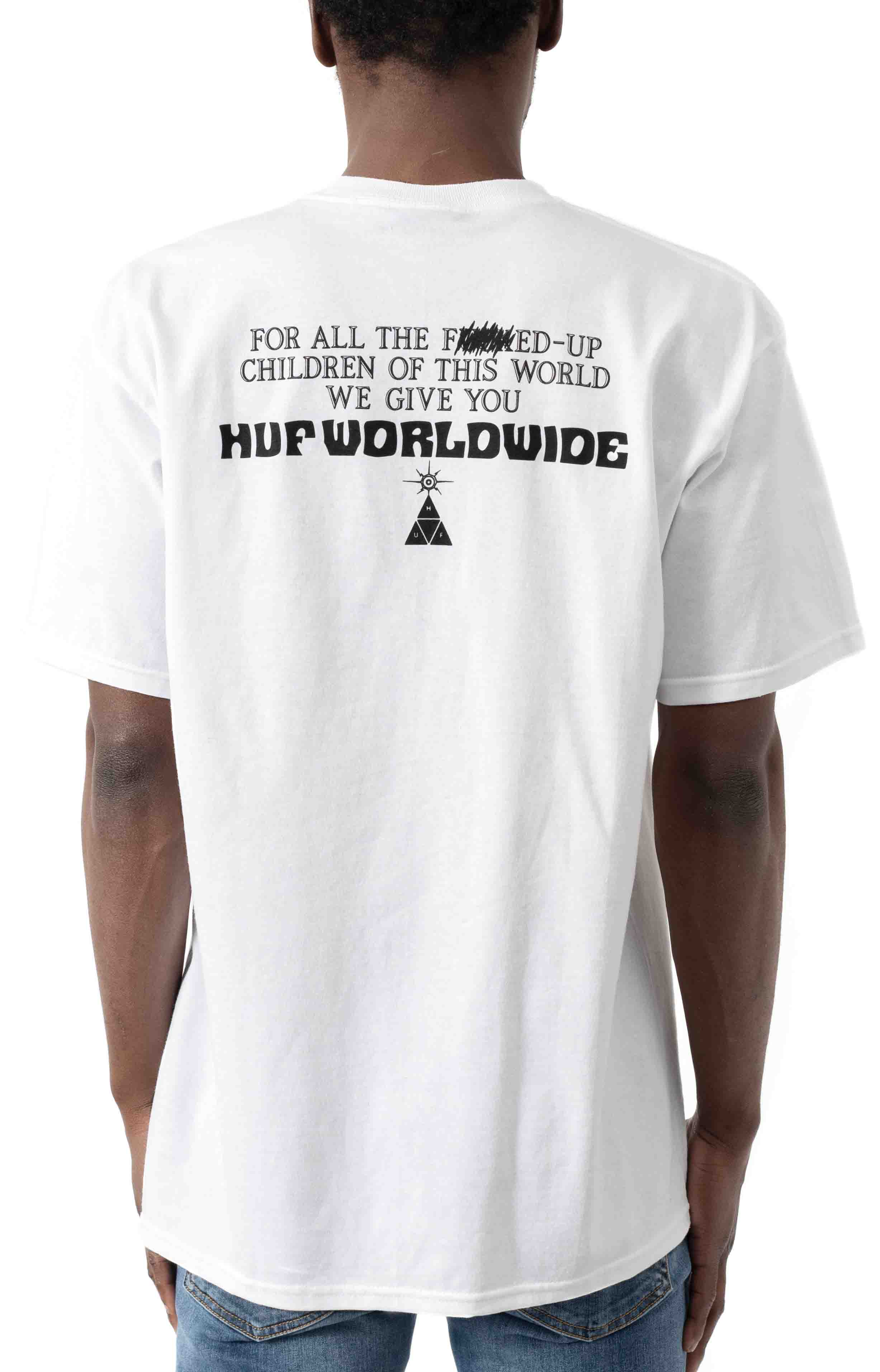 We Give You T-Shirt - White  3