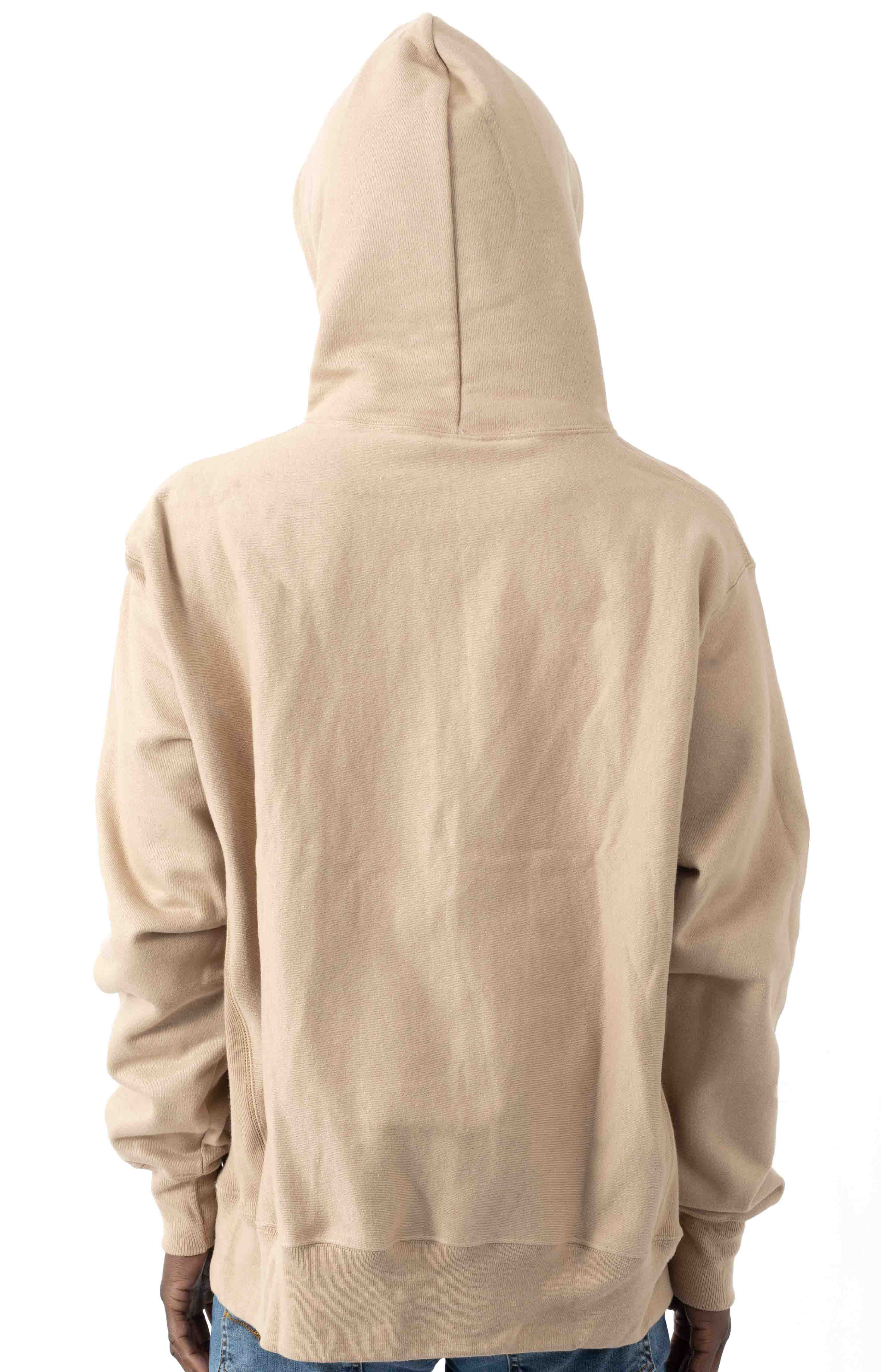 C Logo Reverse Weave Pullover Hoodie - Country Walnut 3