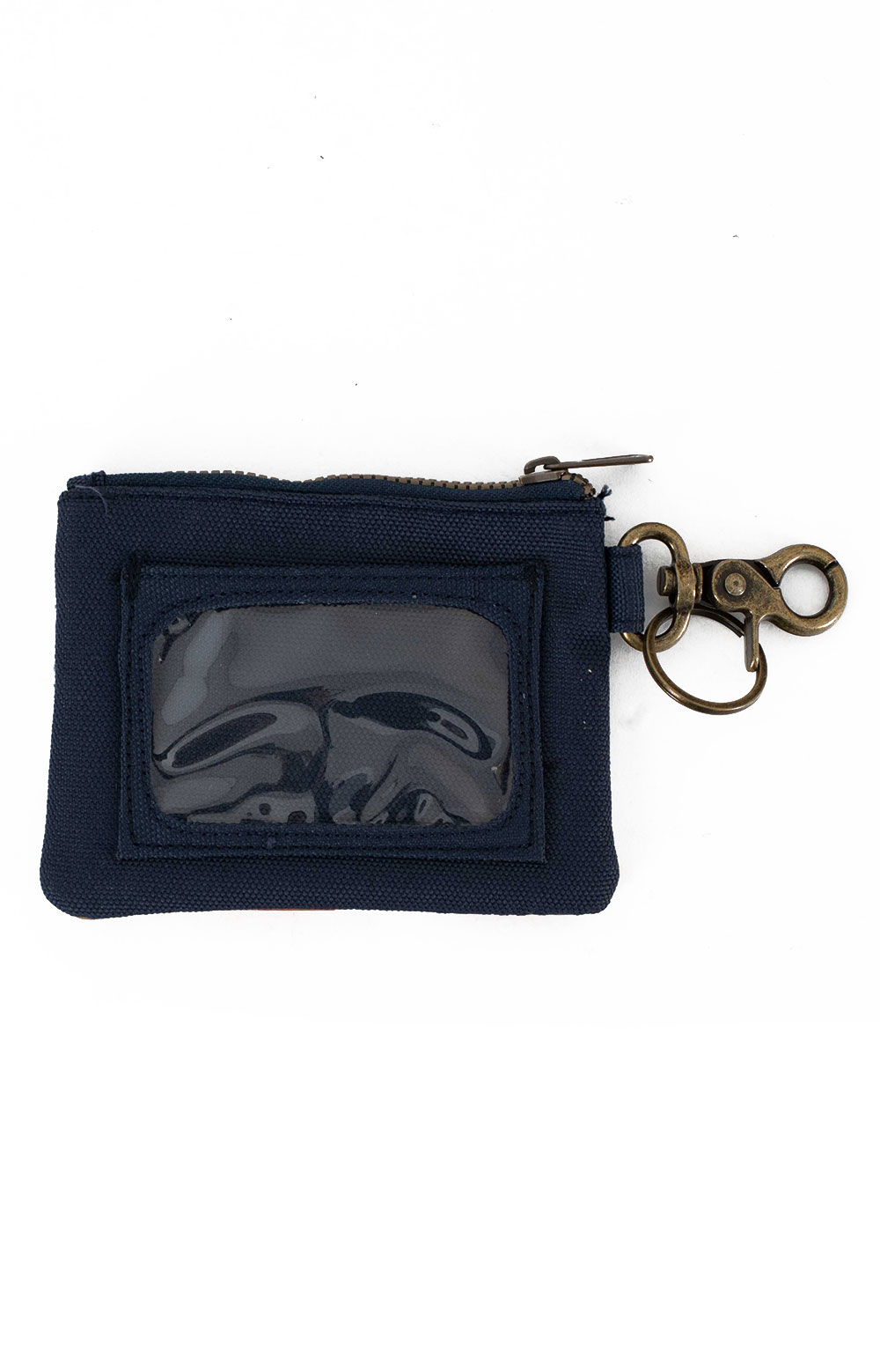 Canopy Canvas ID Pouch Key Ring - Flacon Cove Sunset  2