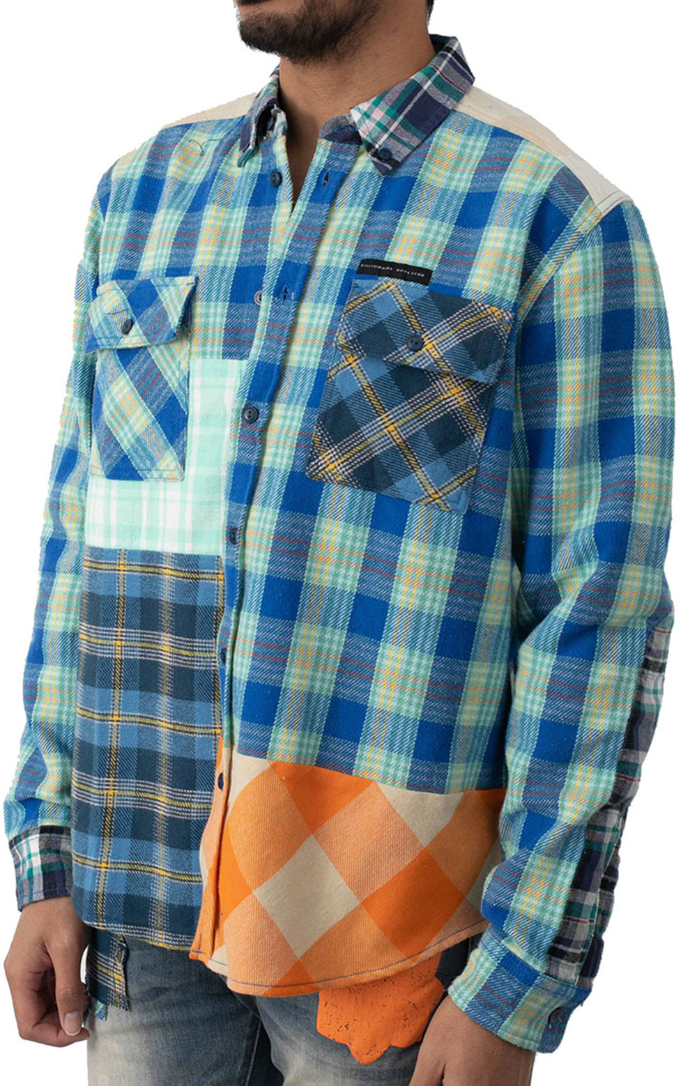 BB Moose Tracks L/S Woven Button-Up Shirt  2