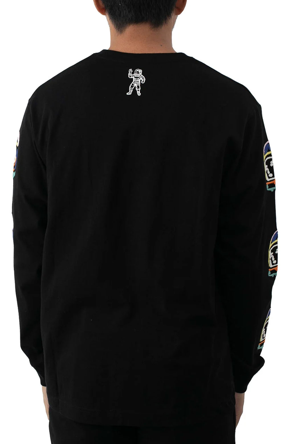 BB Abstract Arch L/S Knit - Black  4