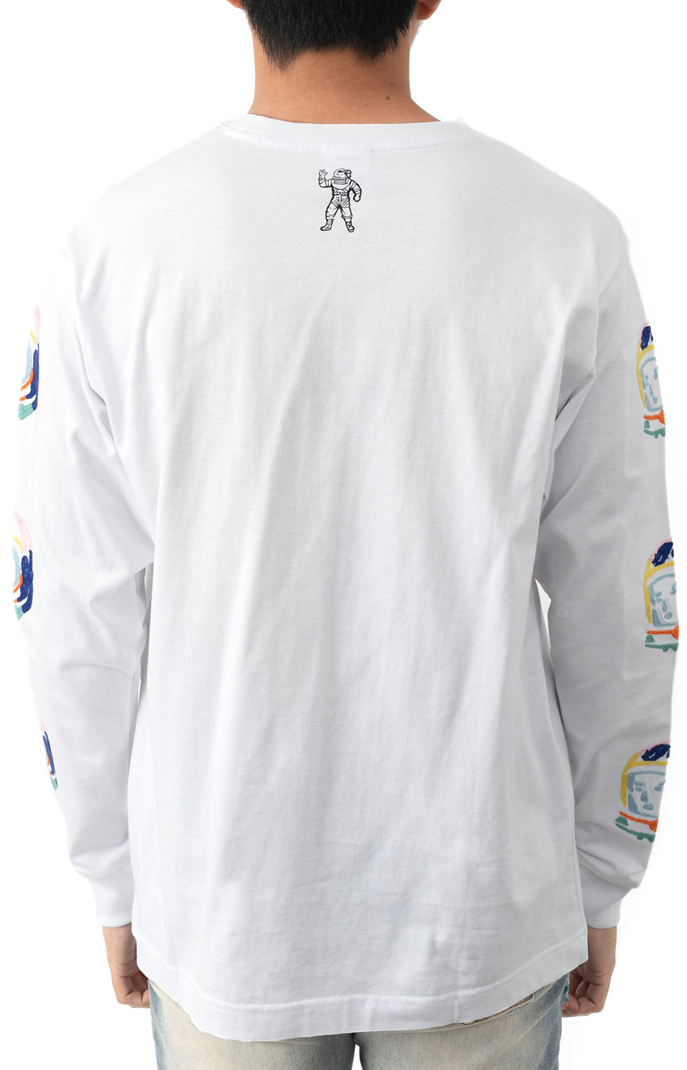 BB Abstract Arch L/S Knit - White  3