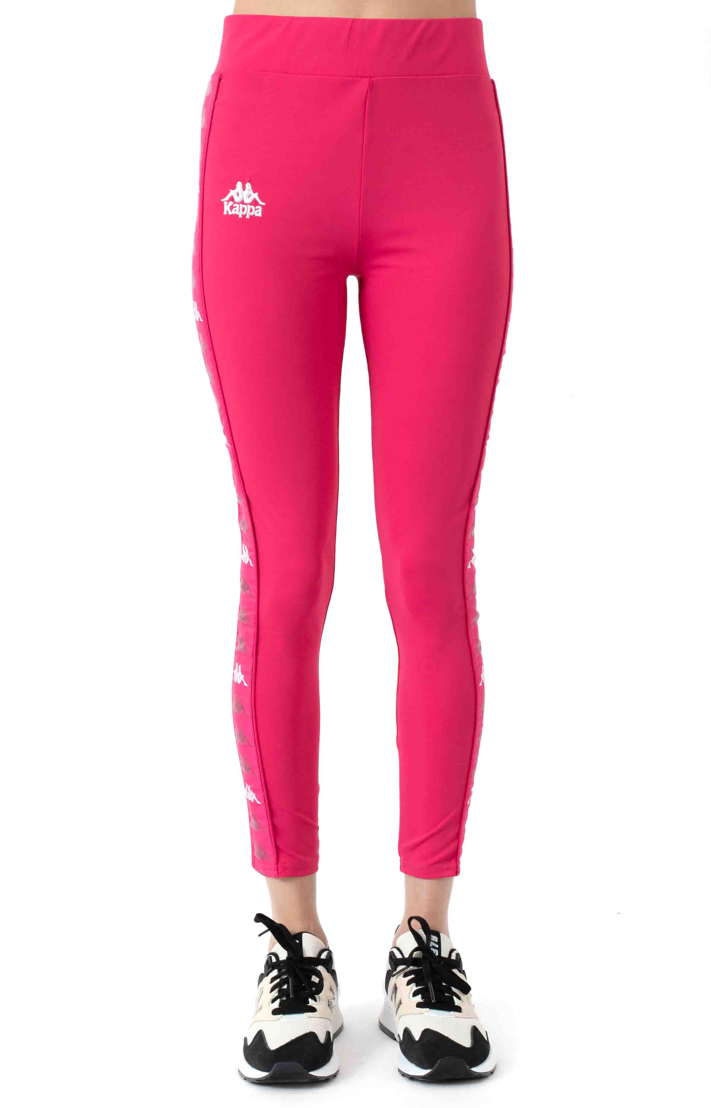 222 Banda Bartes Leggings - Pink/White