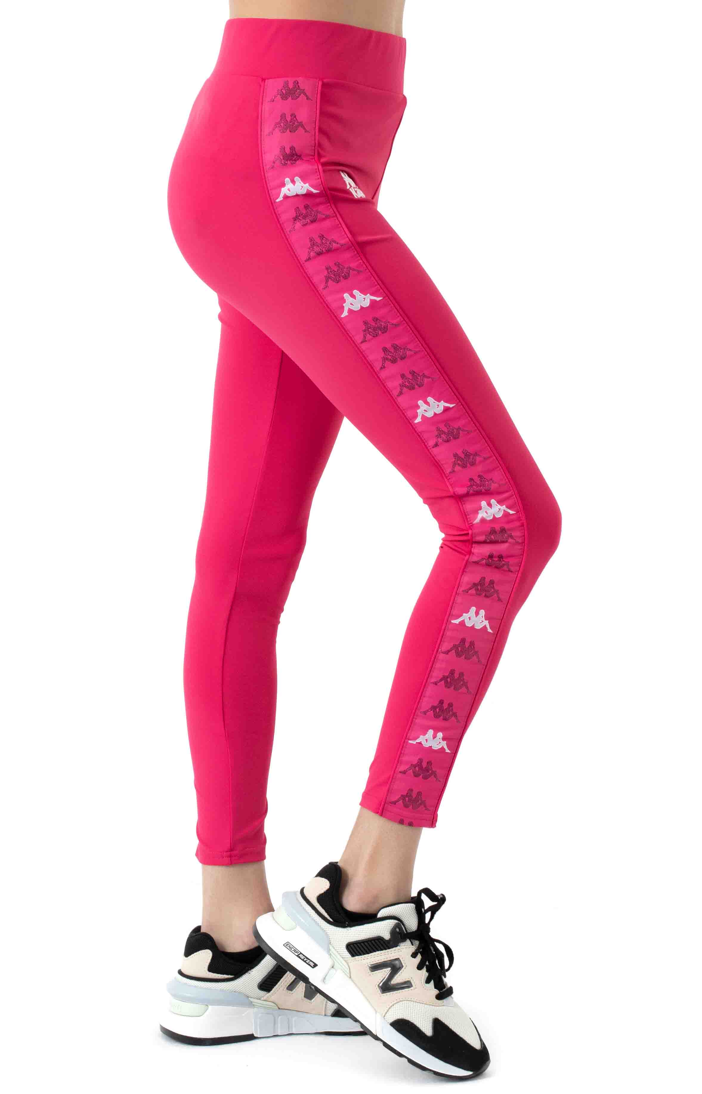 222 Banda Bartes Leggings - Pink/White  2
