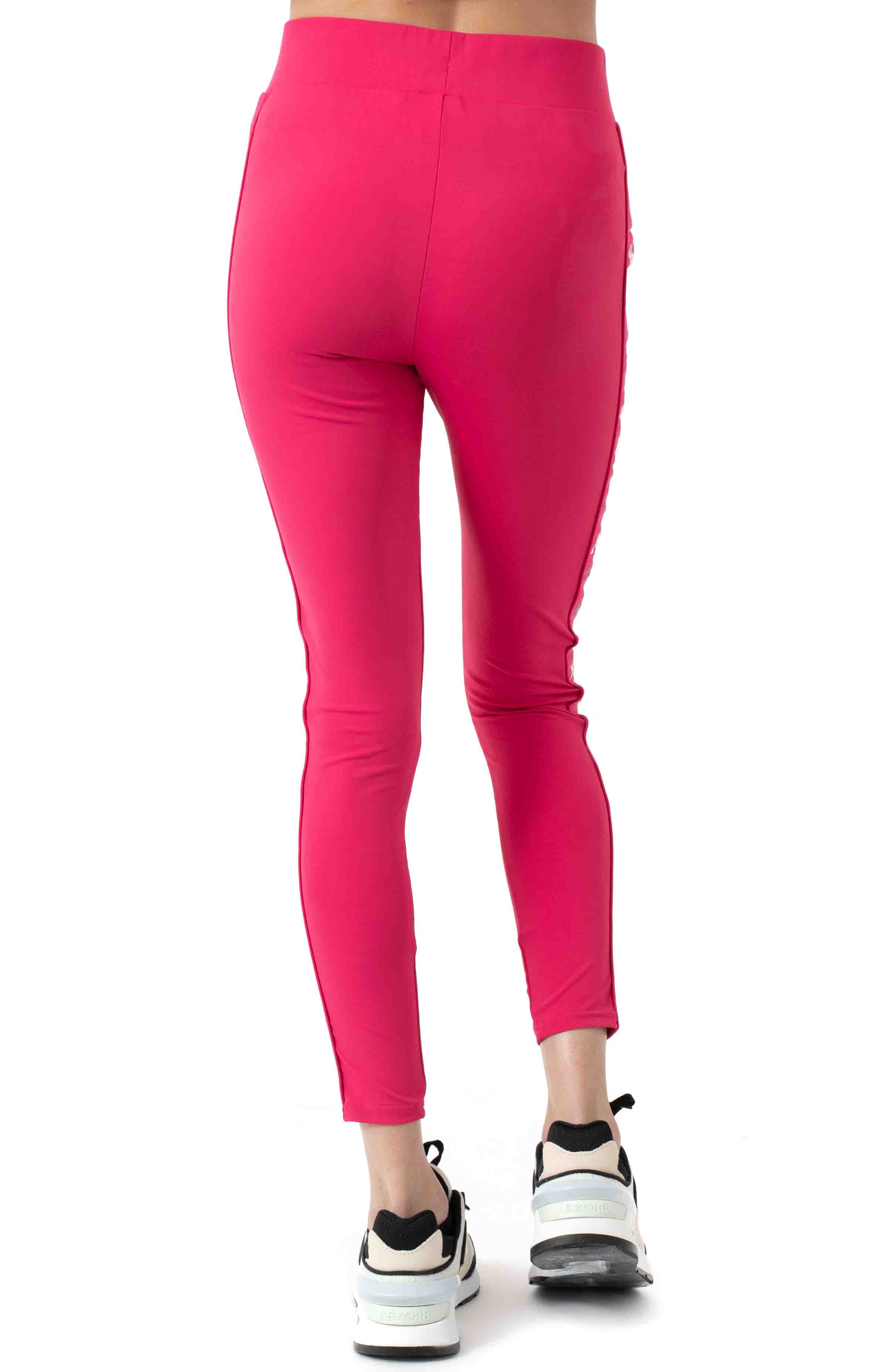 222 Banda Bartes Leggings - Pink/White  3