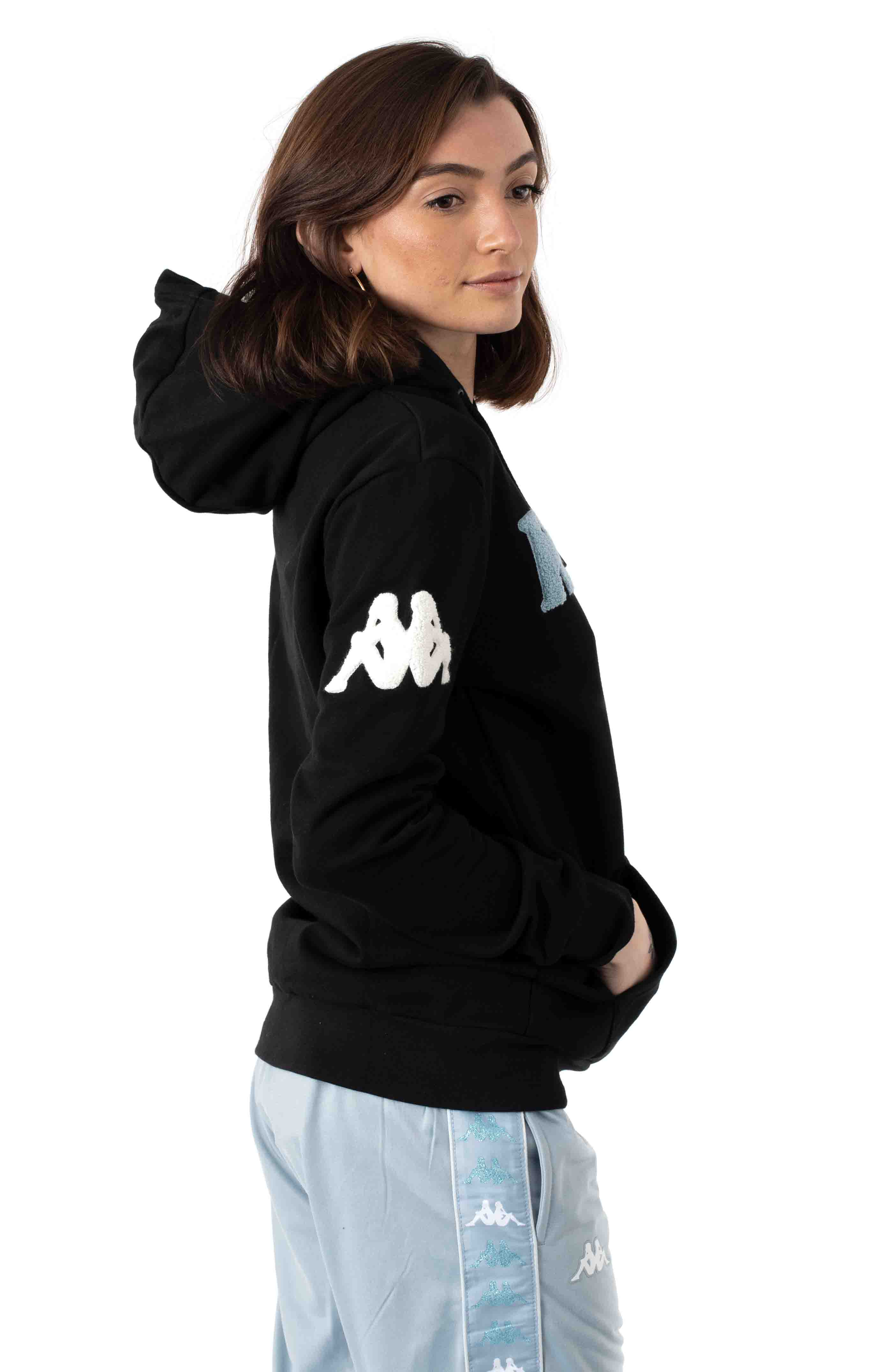 Authentic Bluvi Pullover Hoodie - Black 2
